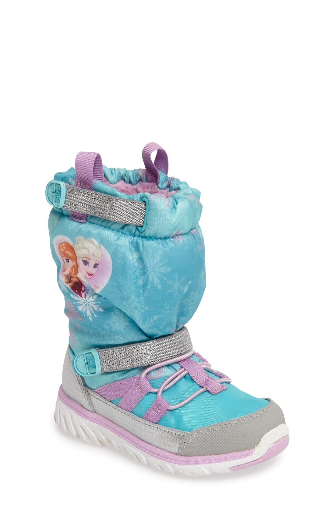 Disney<sup>®</sup> Frozen Made2Play Sneaker Boot,                             Main thumbnail 1, color,                             452