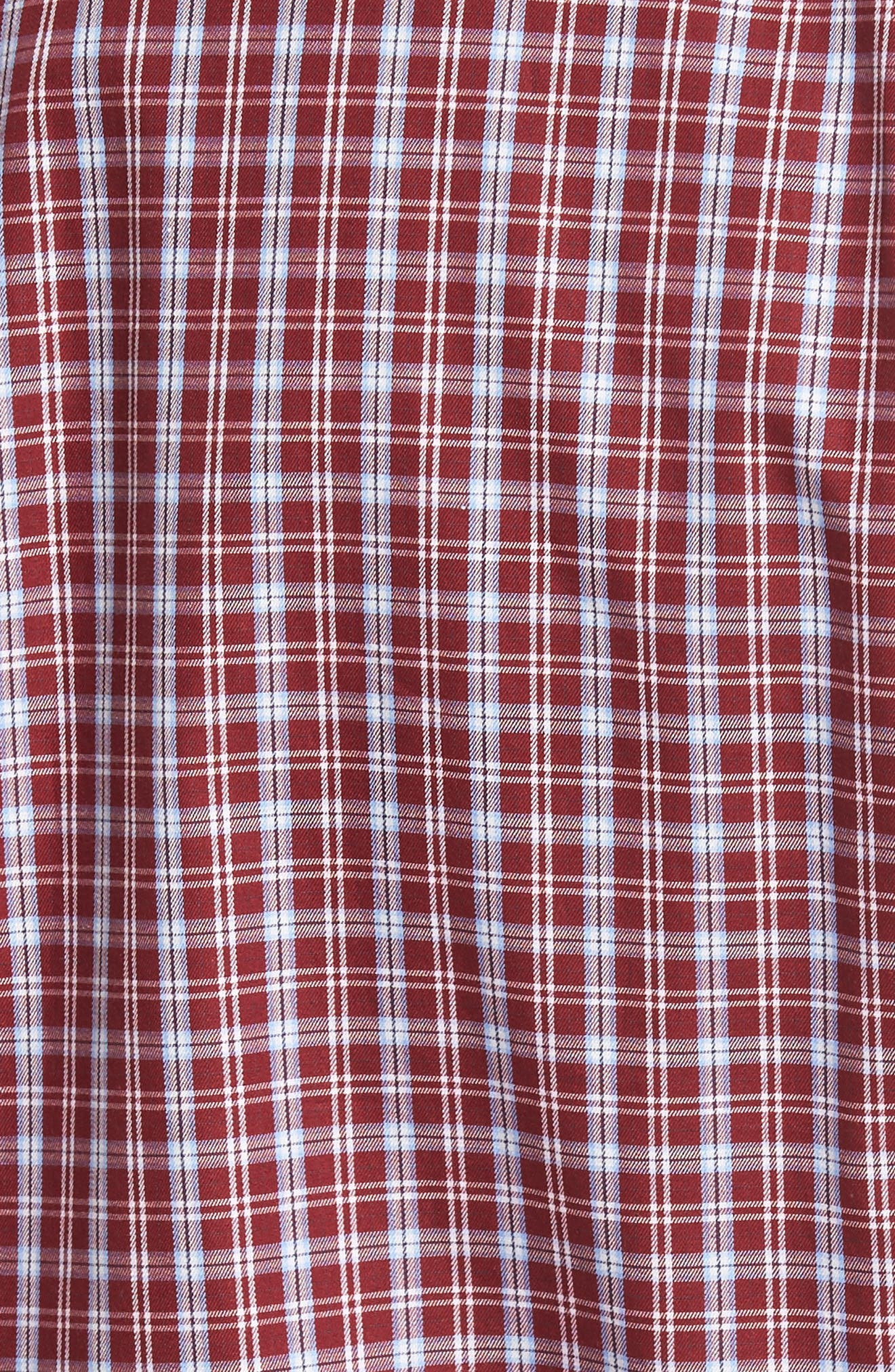 Peter Millar Isle Check Regular Fit Sport Shirt,                             Alternate thumbnail 5, color,                             930