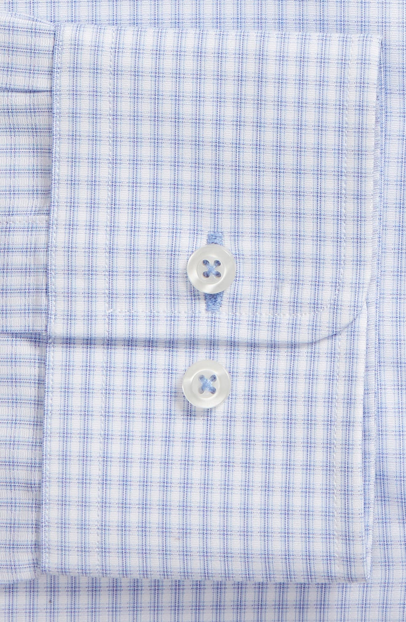 Regular Fit Check Dress Shirt,                             Alternate thumbnail 6, color,                             423