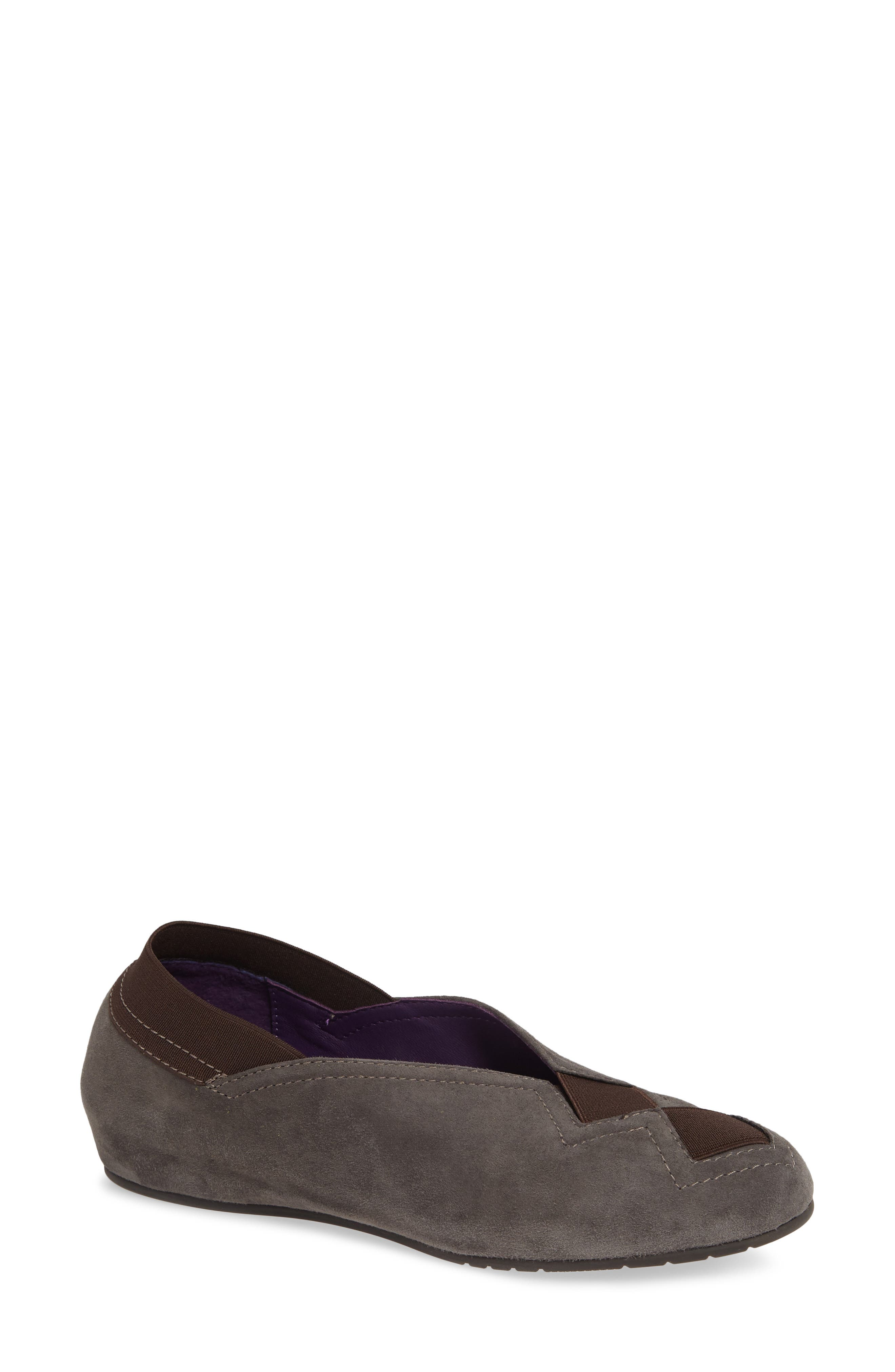 Pandy Hidden Wedge Shoe,                         Main,                         color, MOUSSE SUEDE