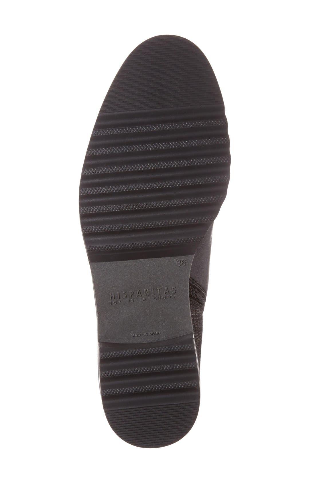 'Lourdes' Chelsea Boot,                             Alternate thumbnail 3, color,                             001