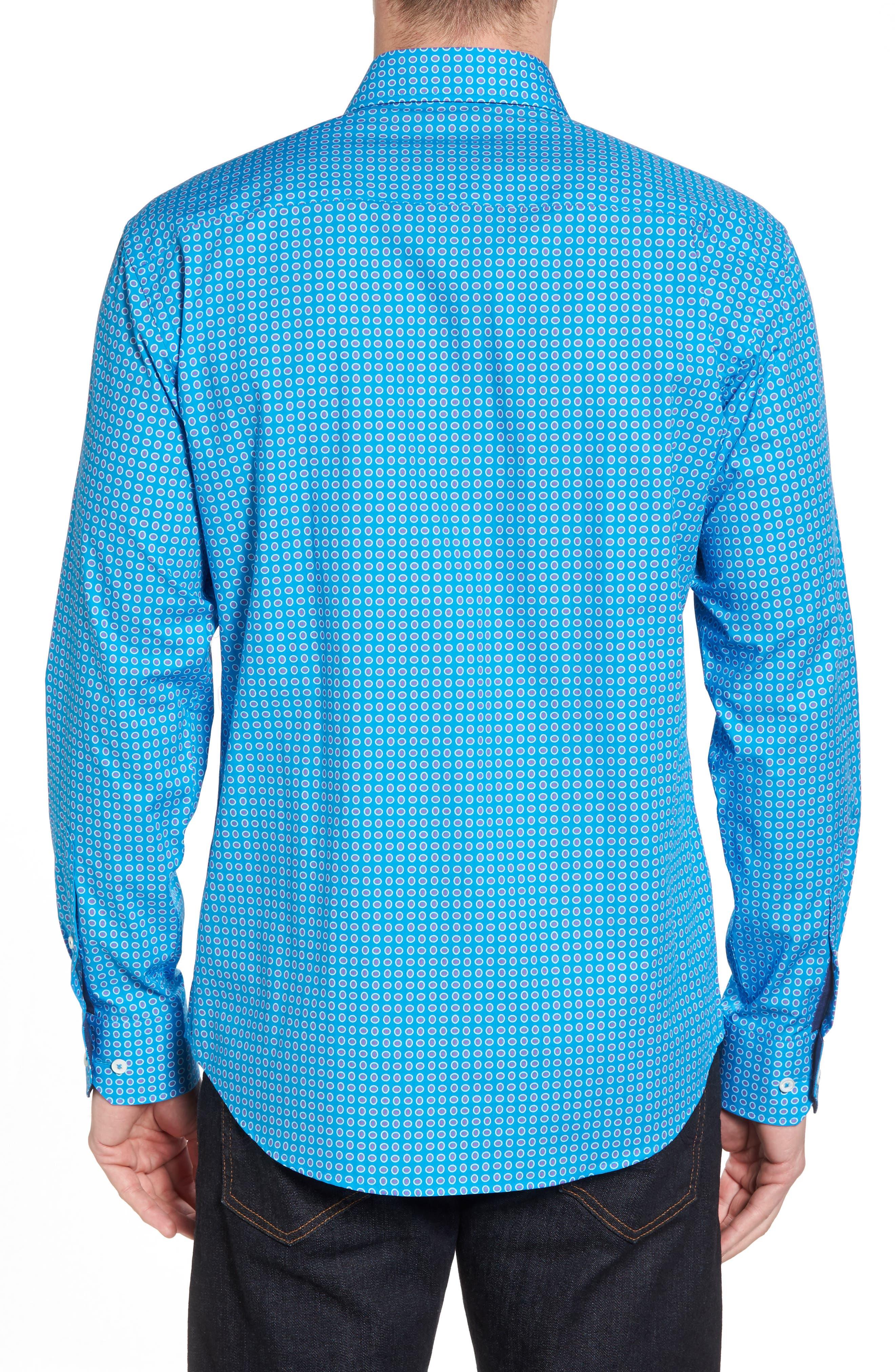 Woven Sport Shirt,                             Alternate thumbnail 2, color,