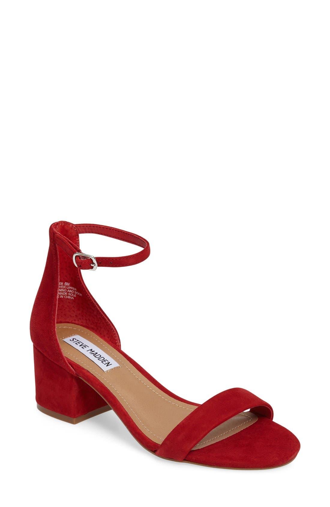 Irenee Ankle Strap Sandal,                             Main thumbnail 24, color,