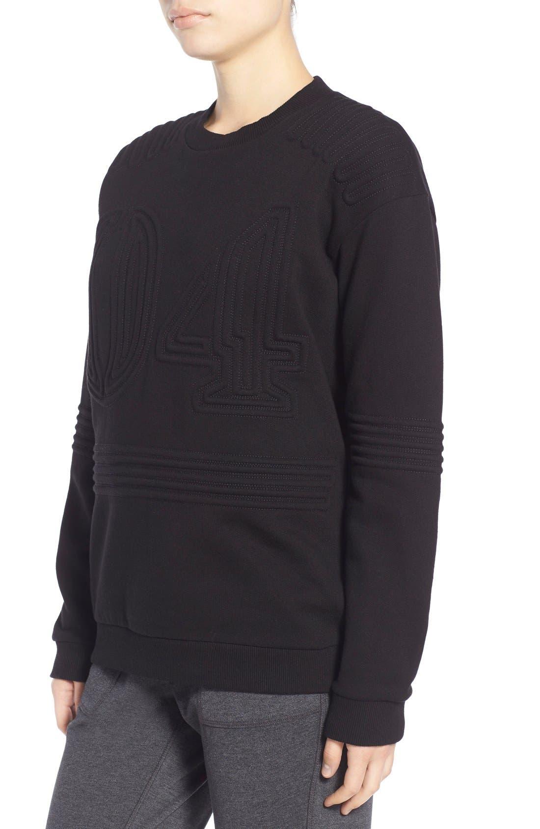 Corded 04 Sweatshirt,                             Alternate thumbnail 4, color,                             001