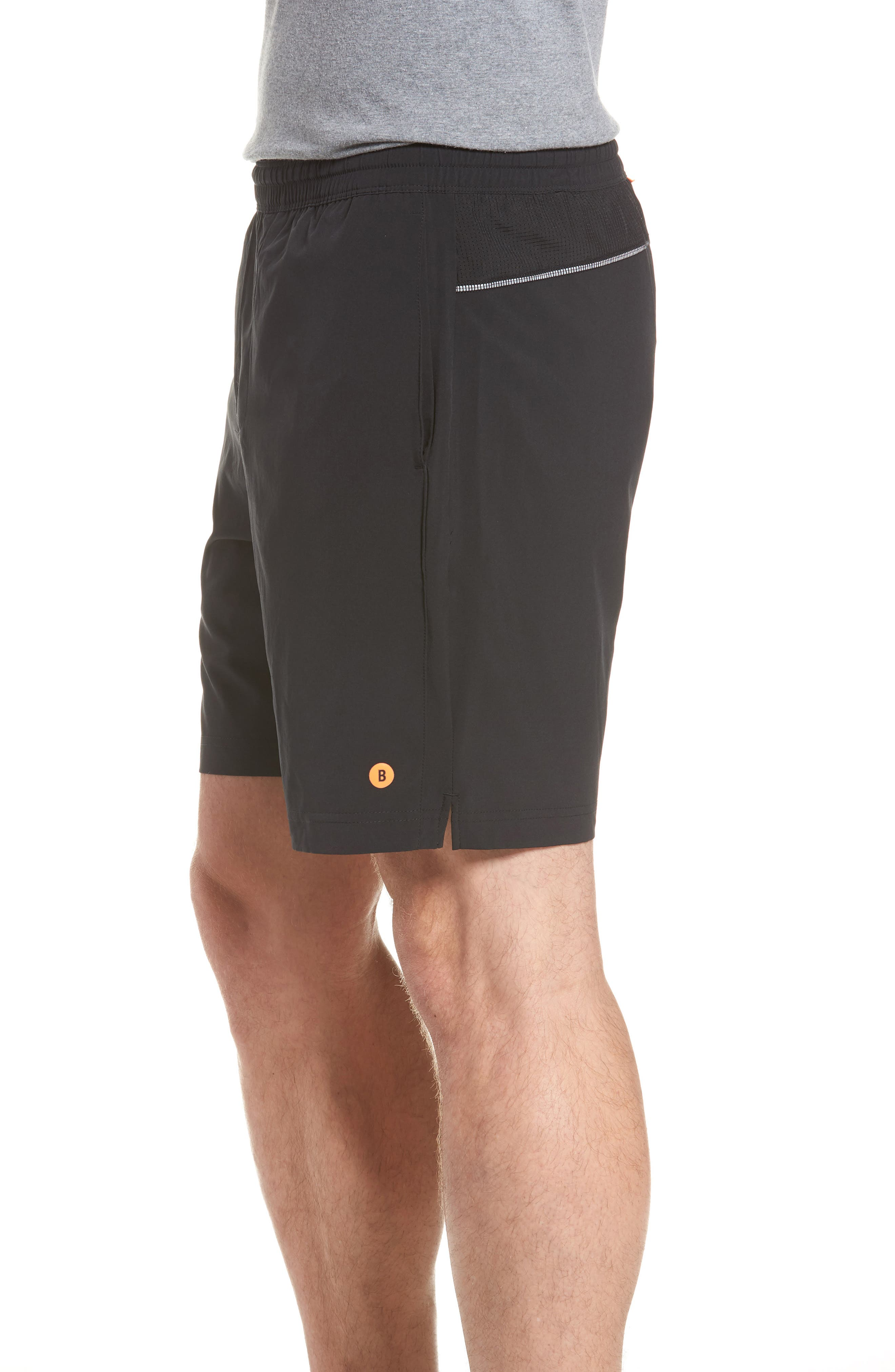 Stretch Shorts,                             Alternate thumbnail 3, color,                             001