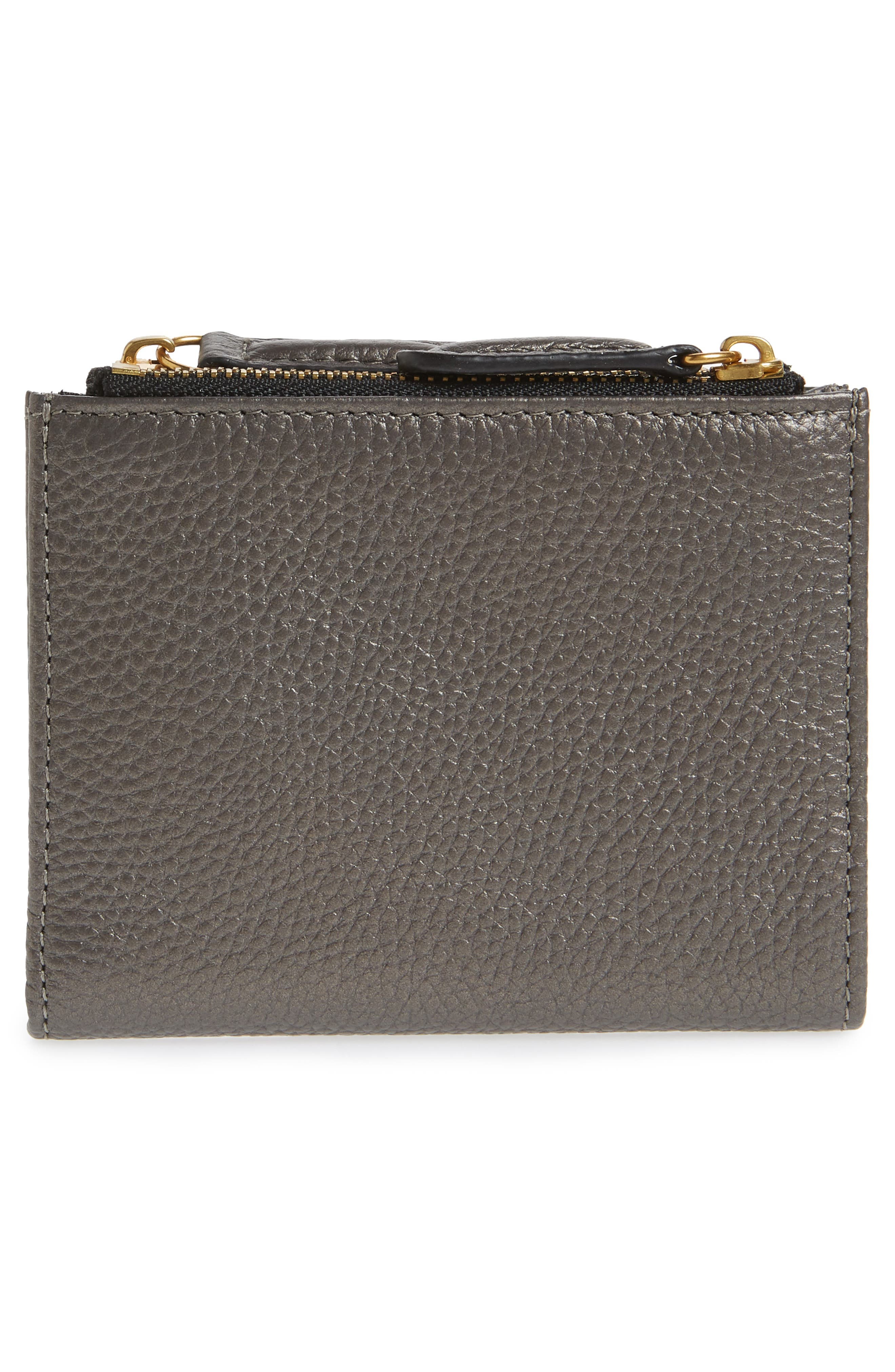 E Leather Wallet,                             Alternate thumbnail 14, color,