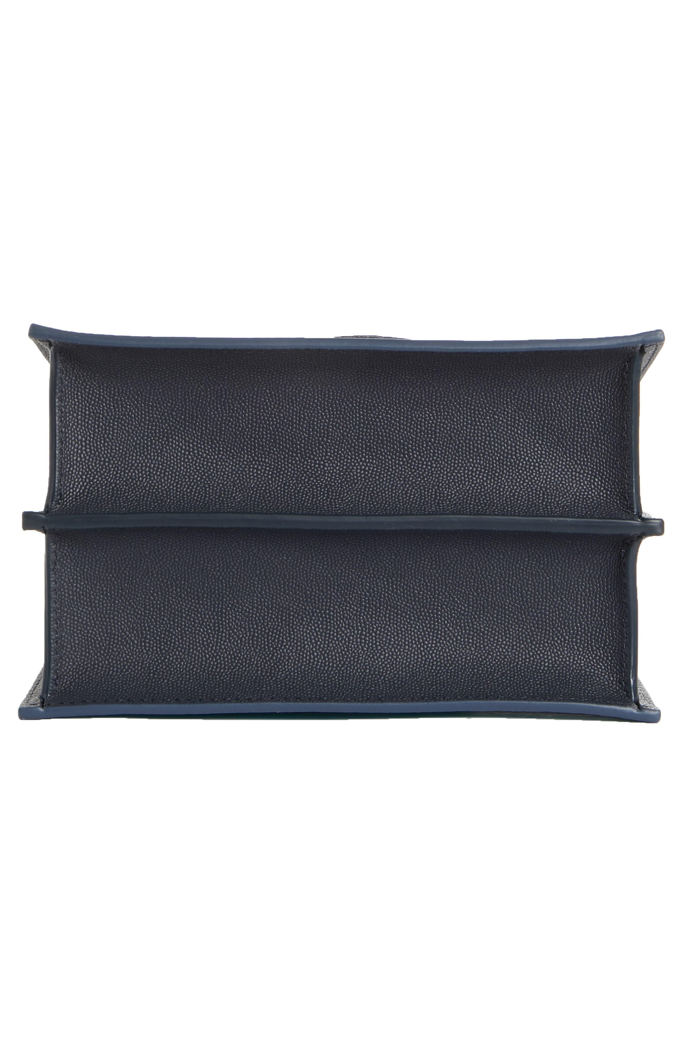 Mini Phoebe Leather Bag,                             Alternate thumbnail 6, color,                             TURQUOISE
