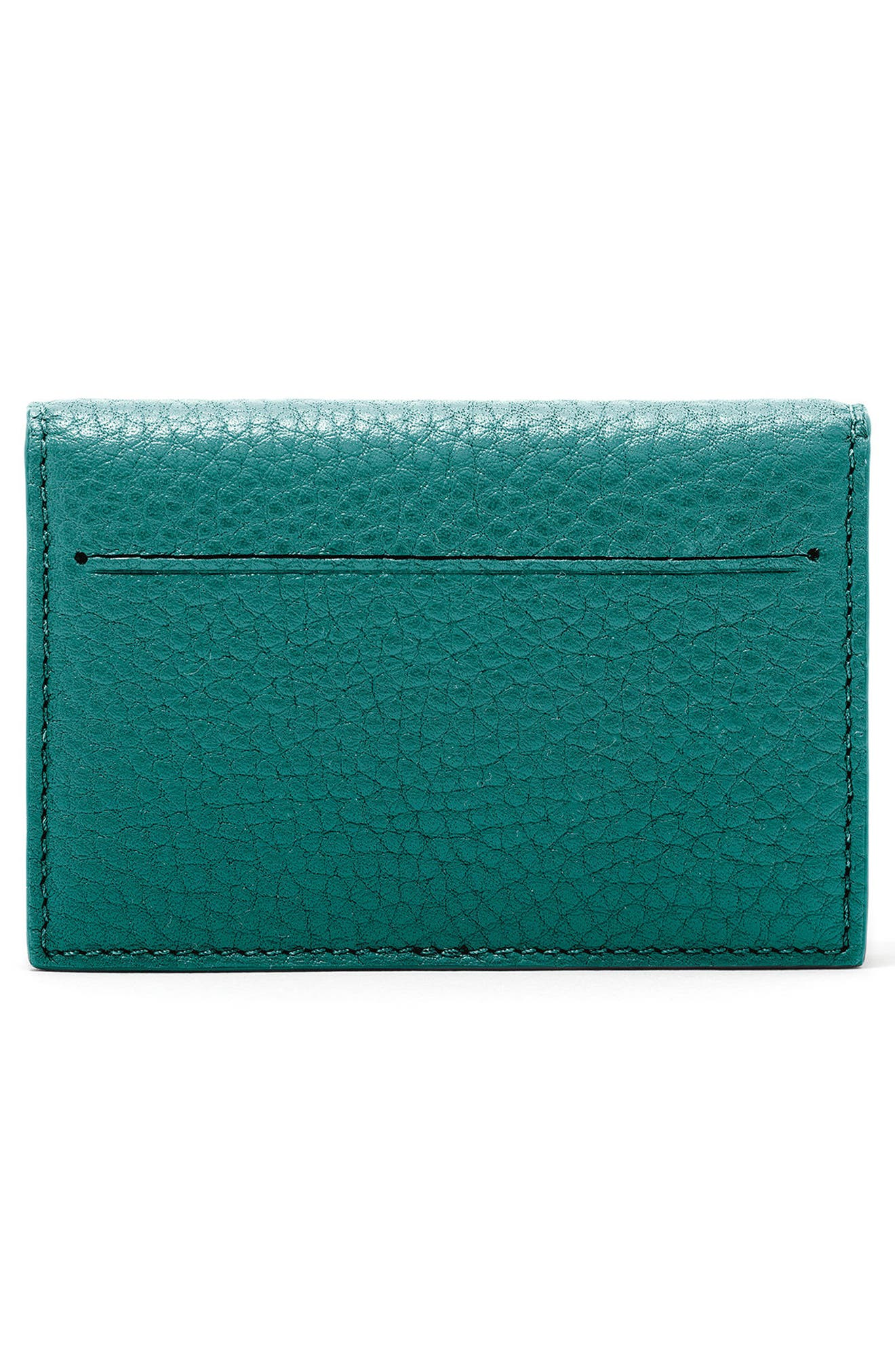 Accordion Leather Card Case,                             Alternate thumbnail 15, color,