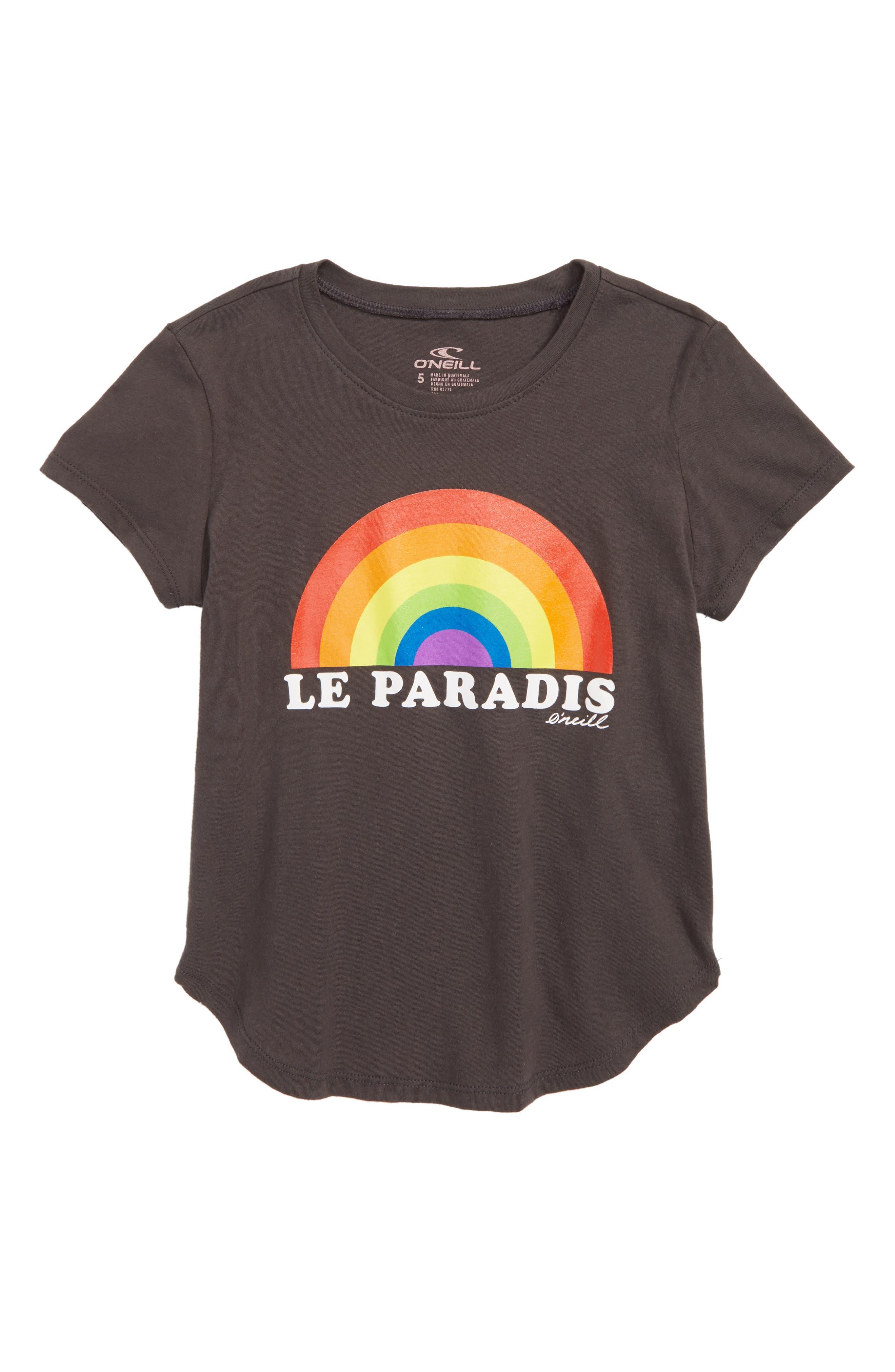 O'NEILL Paradis Screenprint Tee, Main, color, 020