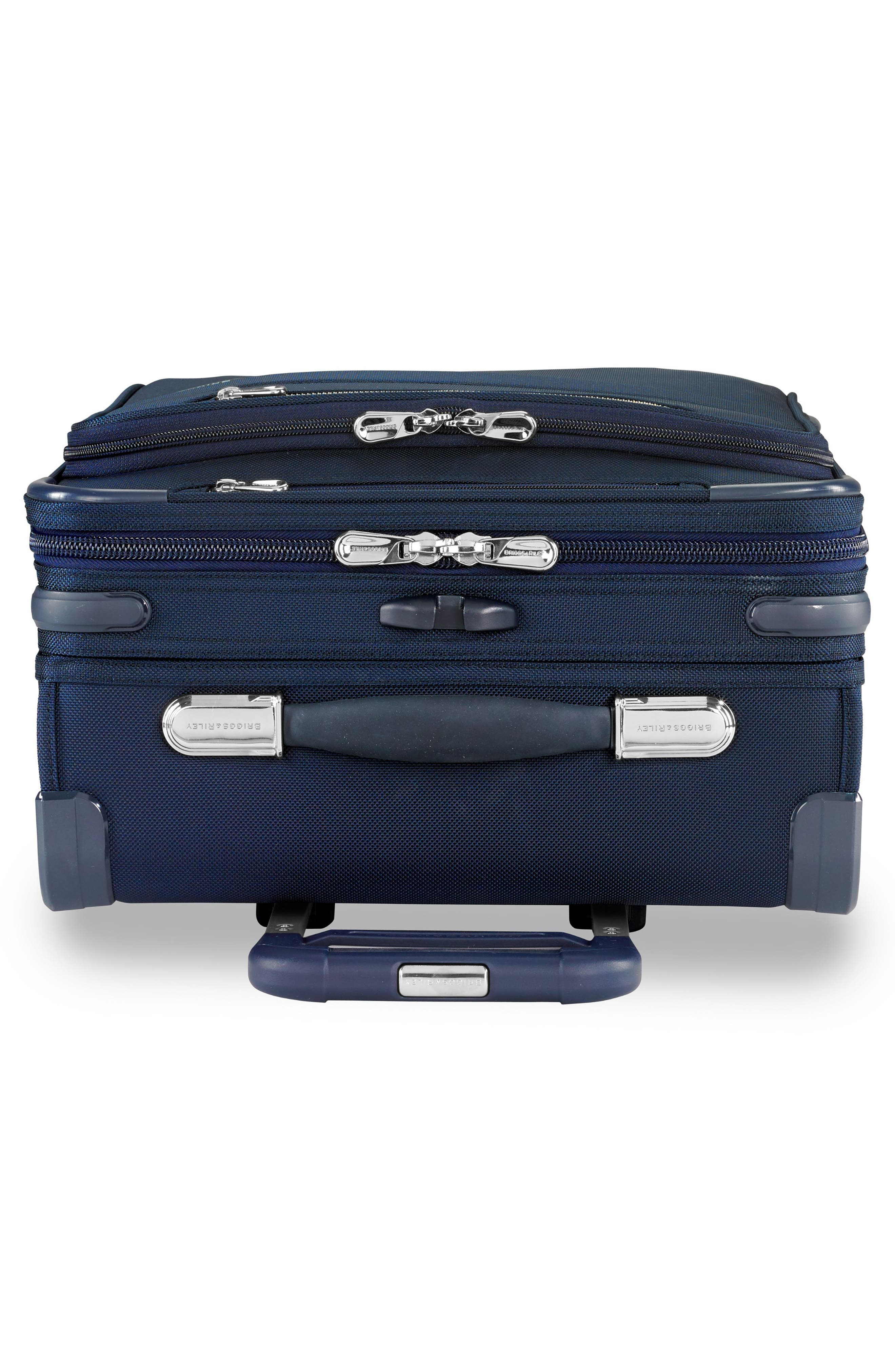 21-Inch Baseline Widebody International Rolling Carry-On,                             Alternate thumbnail 8, color,                             NAVY