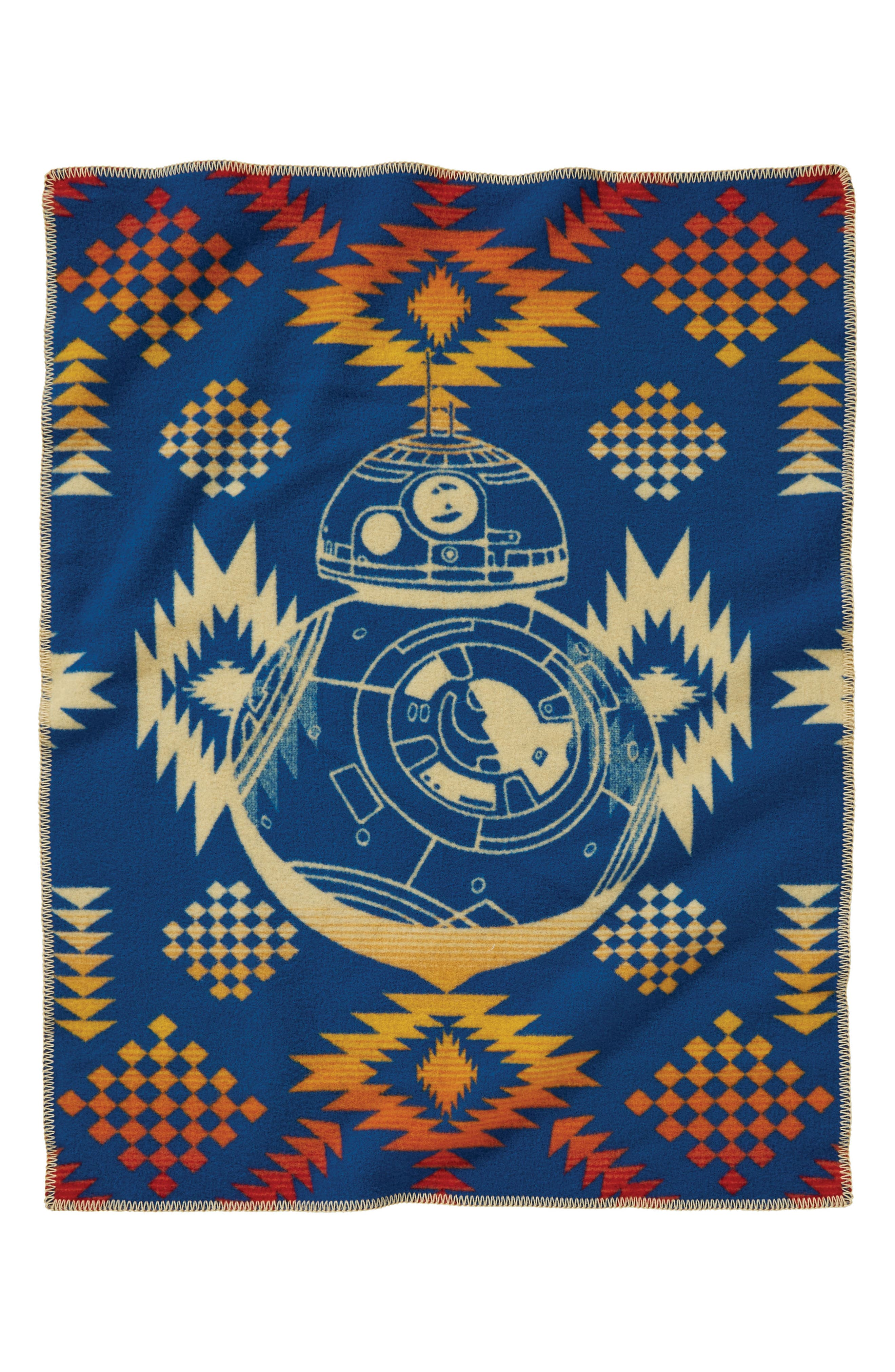 Star Wars<sup>™</sup> BB-8 Baby Blanket,                             Alternate thumbnail 2, color,                             MULTI