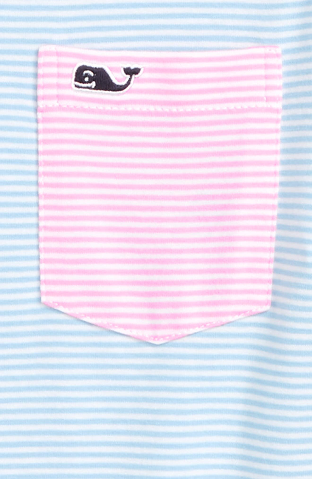 Edgartown Stripe Party Polo,                             Alternate thumbnail 3, color,                             MULTI