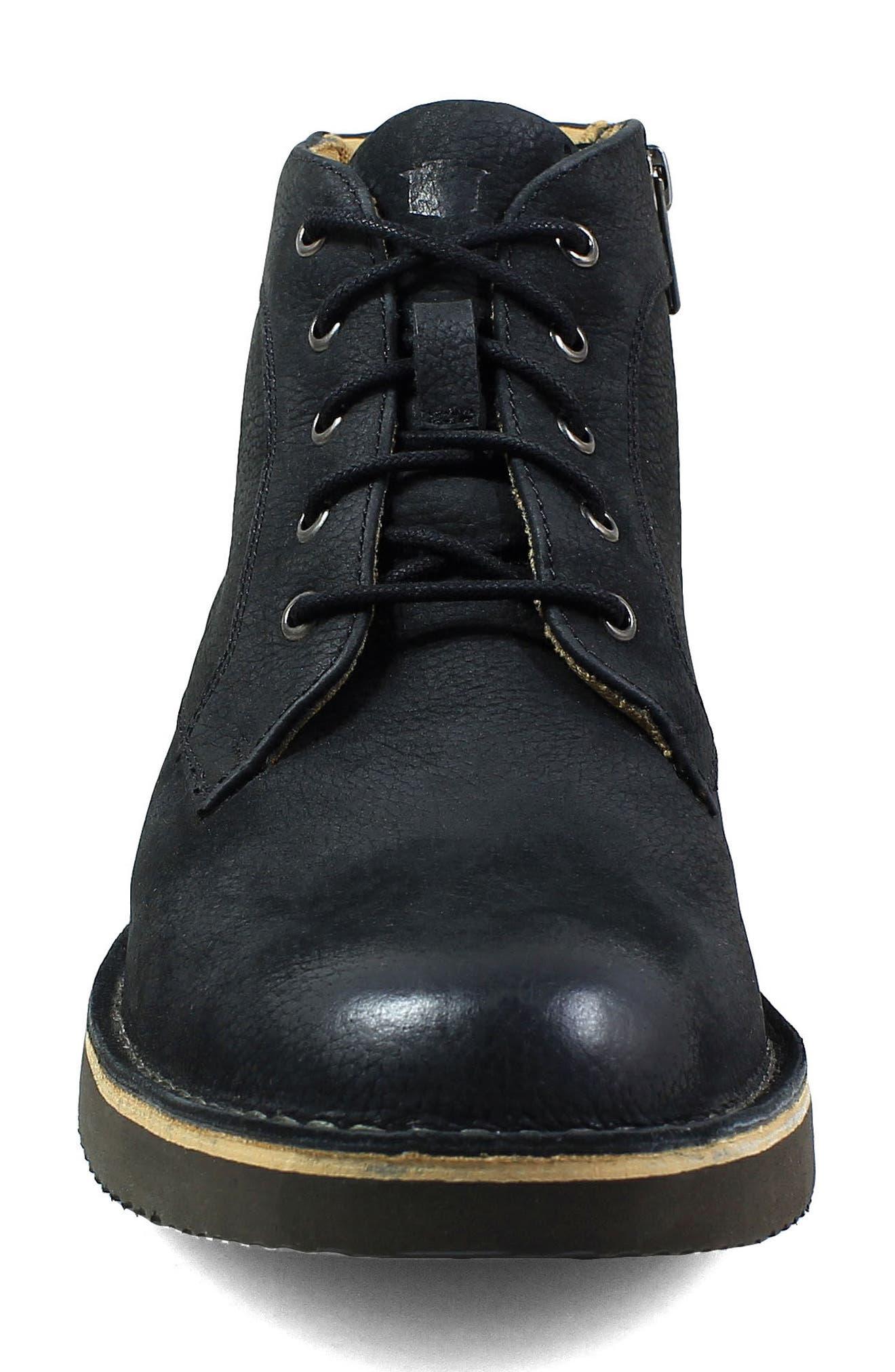 Navigator Plain Toe Boot,                             Alternate thumbnail 4, color,                             006
