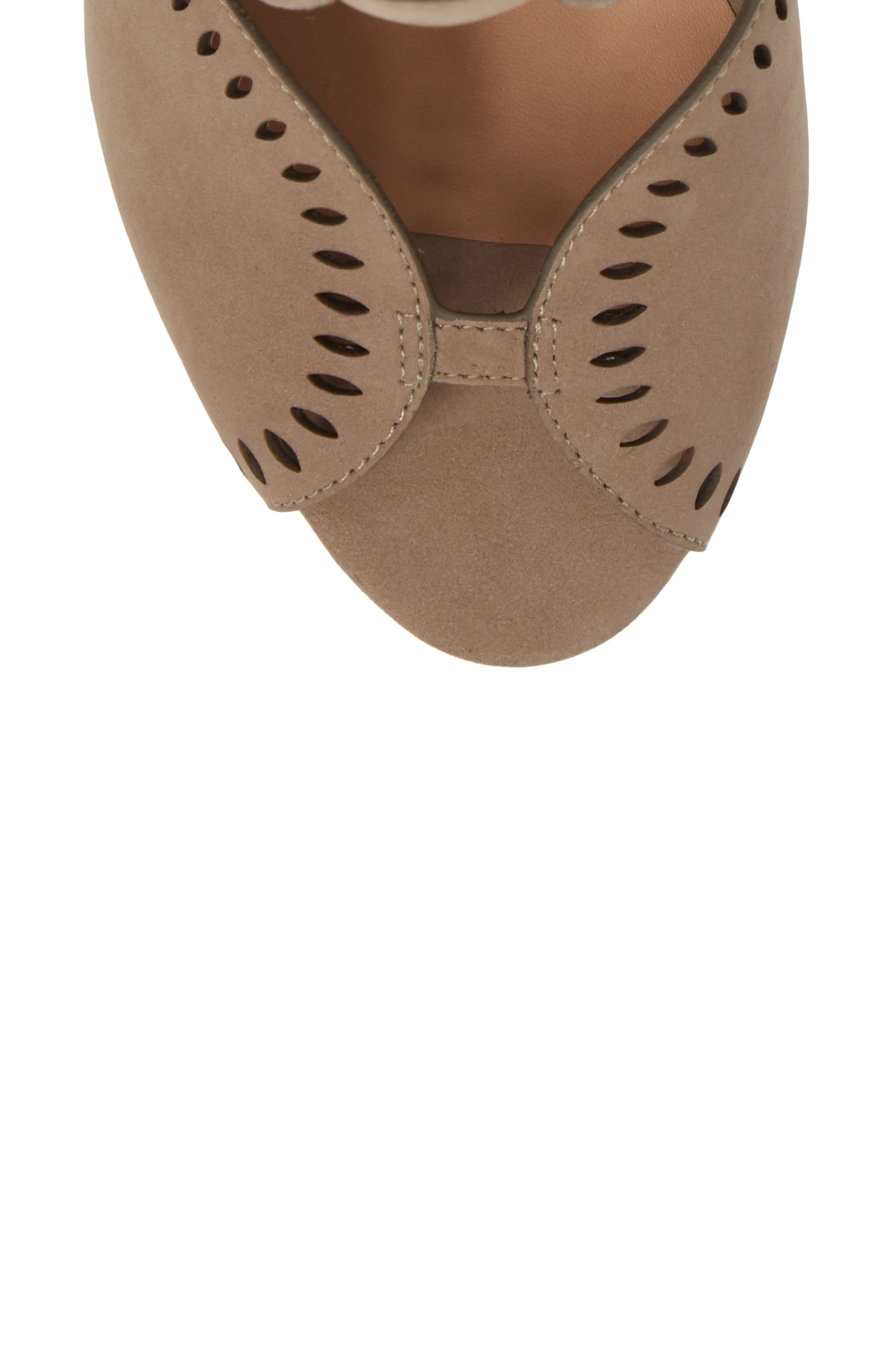 Mallia Perforated Sandal,                             Alternate thumbnail 10, color,