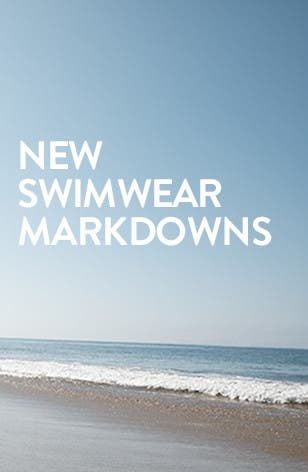 New markdowns on summer's hottest swimsuits.