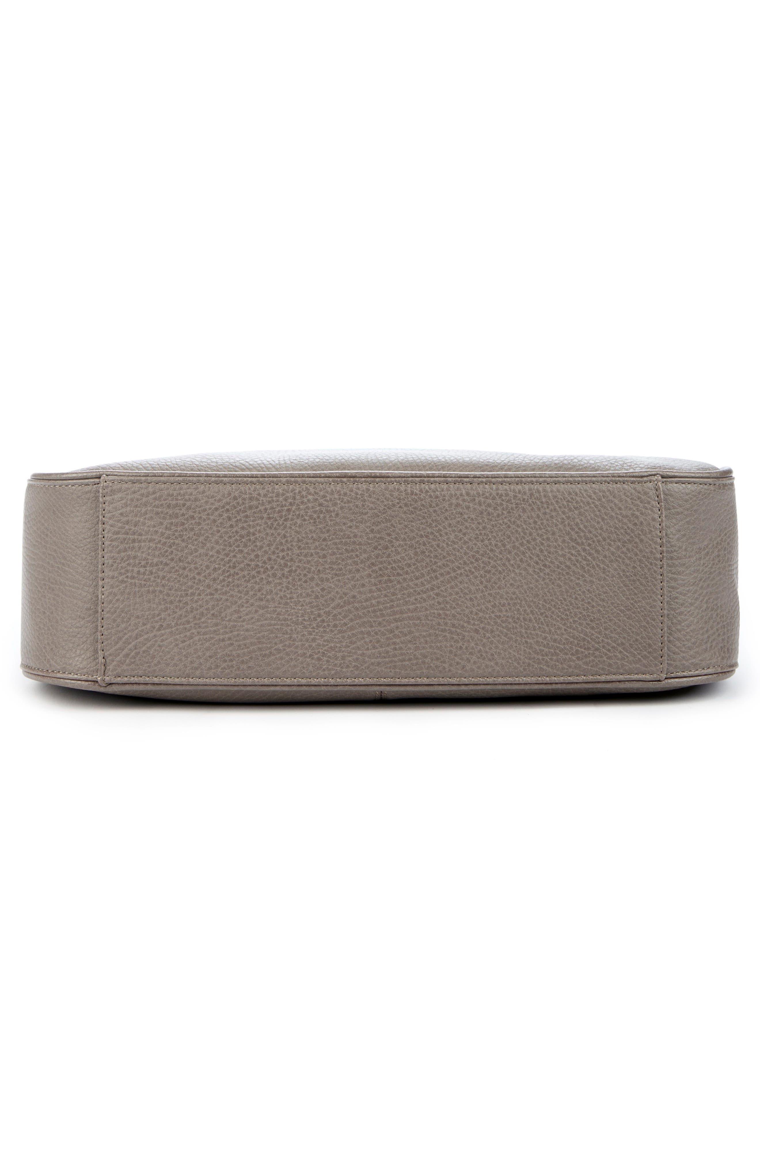 Sarafina Faux Leather Shoulder Bag,                             Alternate thumbnail 6, color,                             020