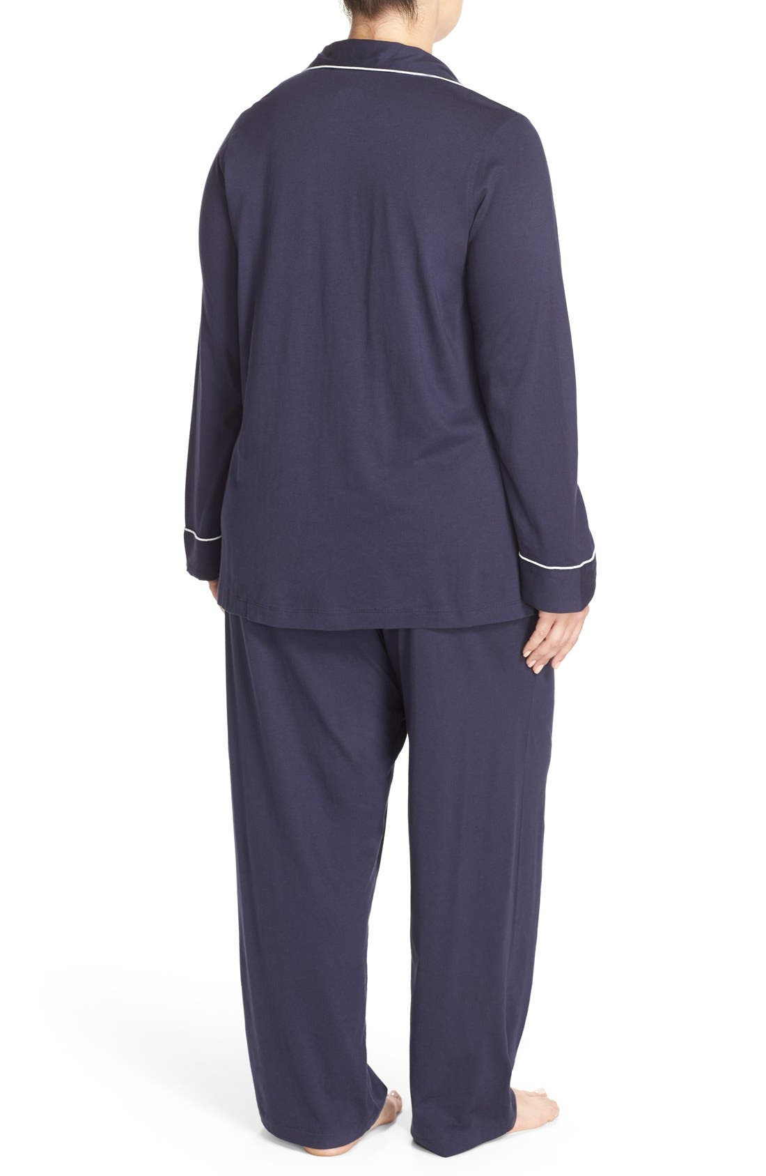 Knit Pajamas,                             Alternate thumbnail 4, color,                             410