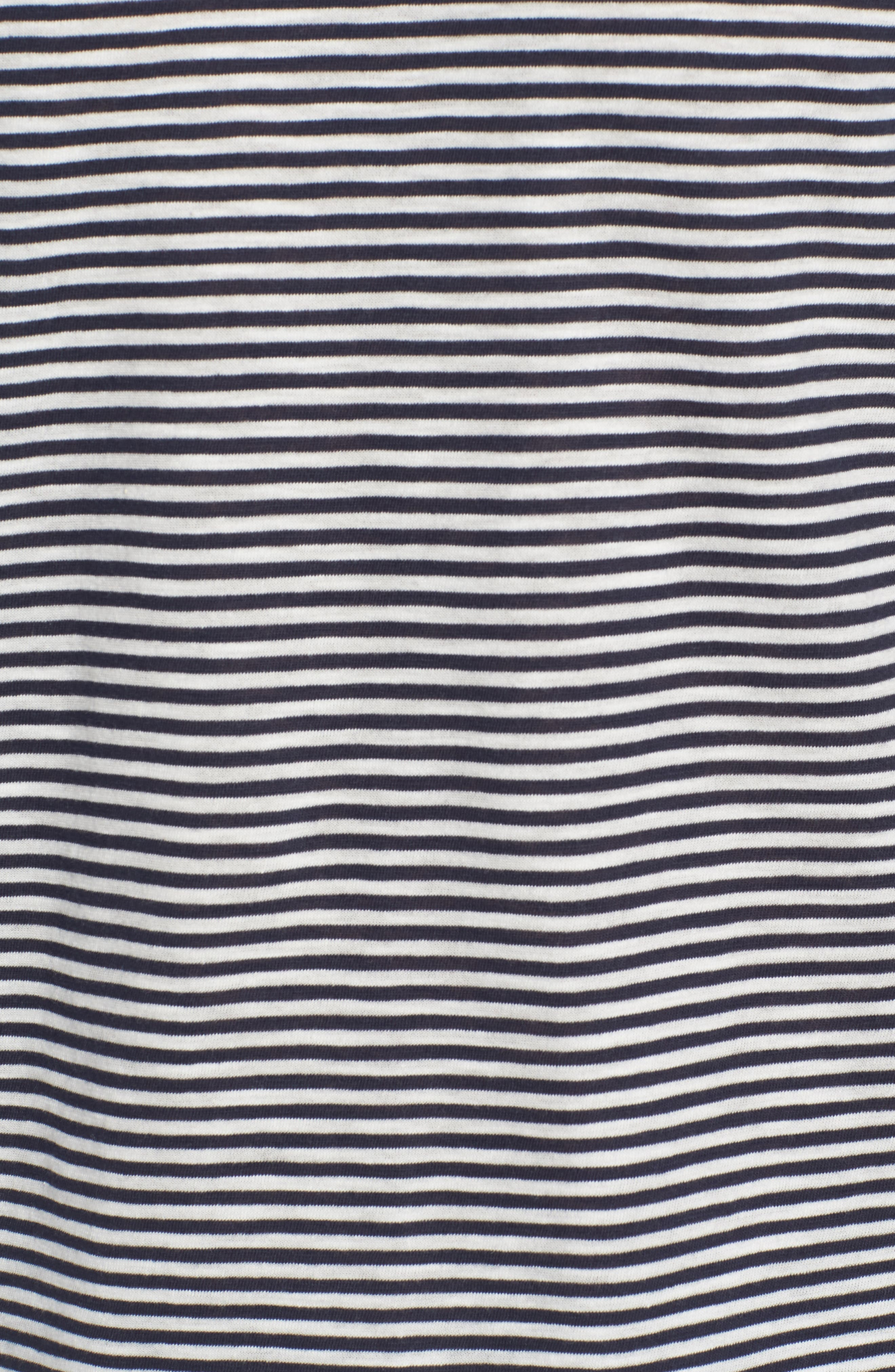 + Champion Stripe T-Shirt,                             Alternate thumbnail 5, color,                             410