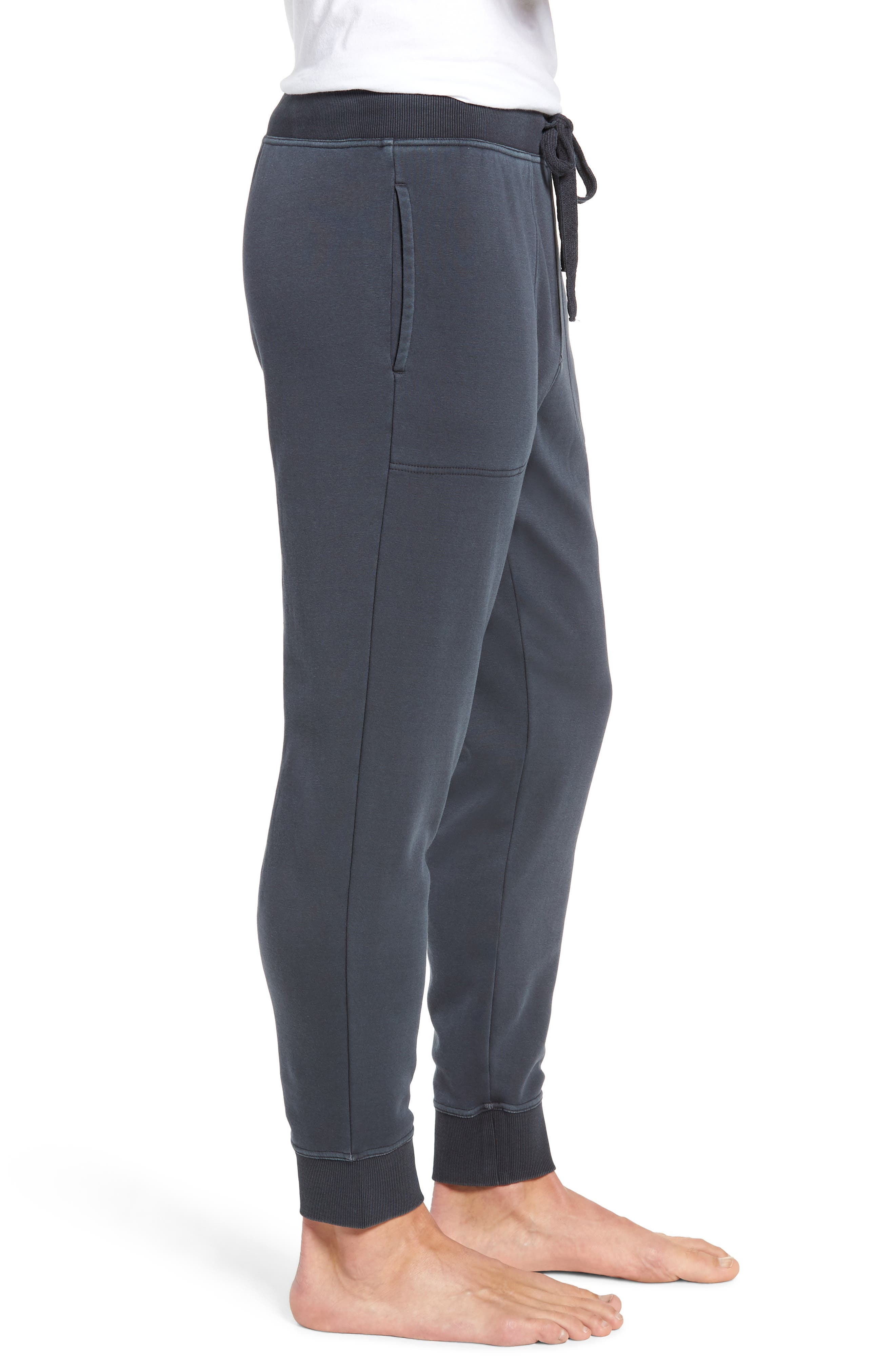 Jakob Washed Jogger Pants,                             Alternate thumbnail 3, color,                             CHARCOAL