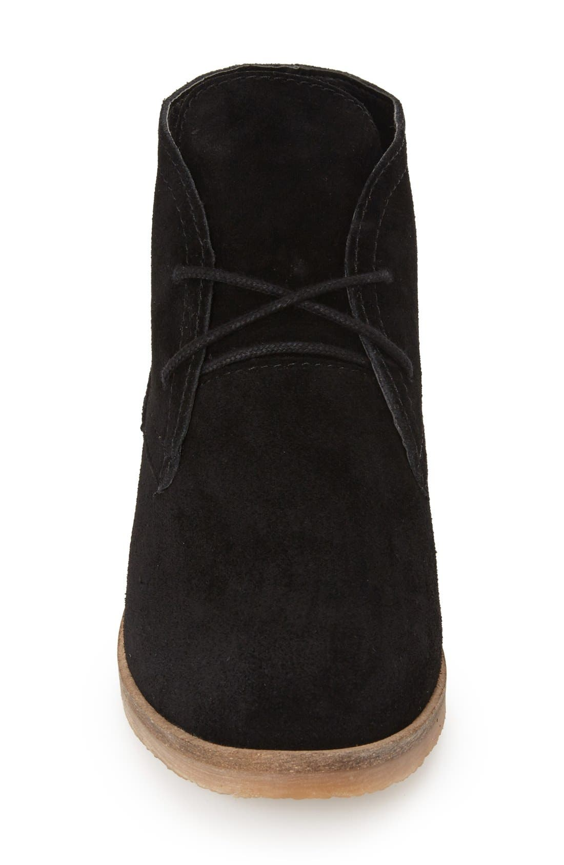 LuckyBrand'Garboh'Lace-UpBootie,                             Alternate thumbnail 4, color,                             001