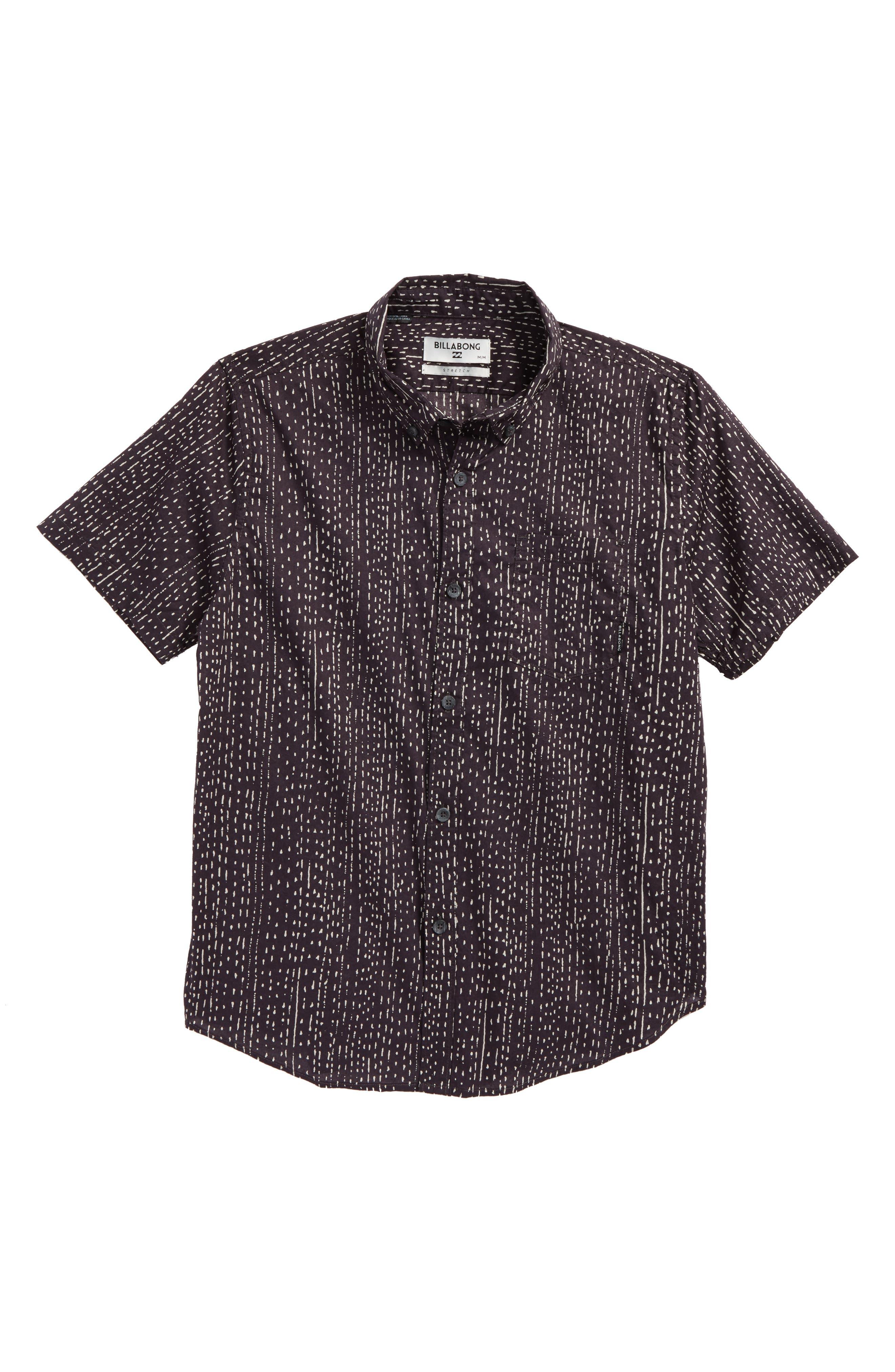 Sundays Mini Short Sleeve Woven Shirt,                         Main,                         color, 020