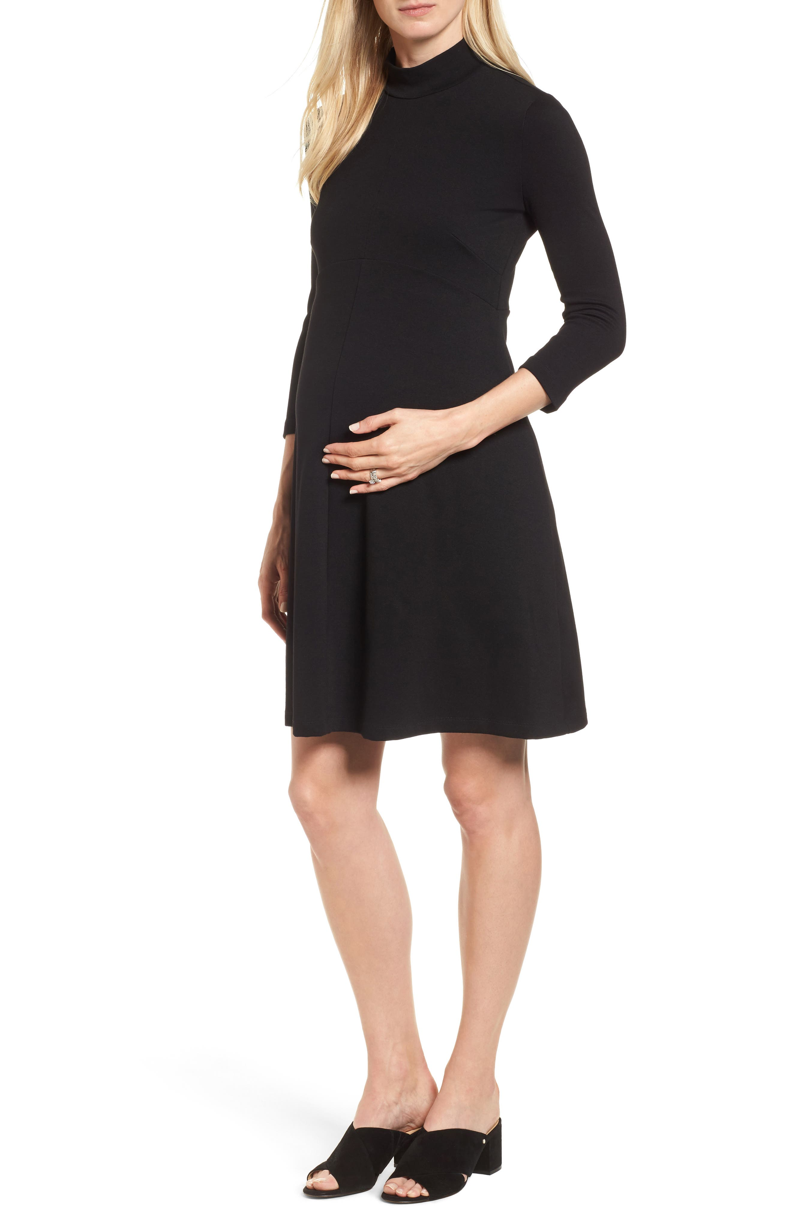 Kennett Maternity Dress,                             Main thumbnail 1, color,                             001
