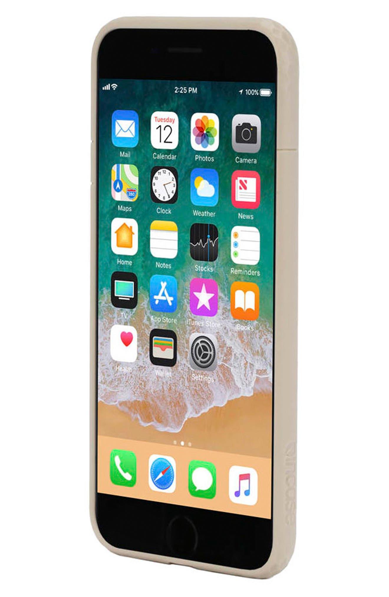 Frame iPhone 7 Plus/8 Plus Case,                             Alternate thumbnail 6, color,                             GOLD