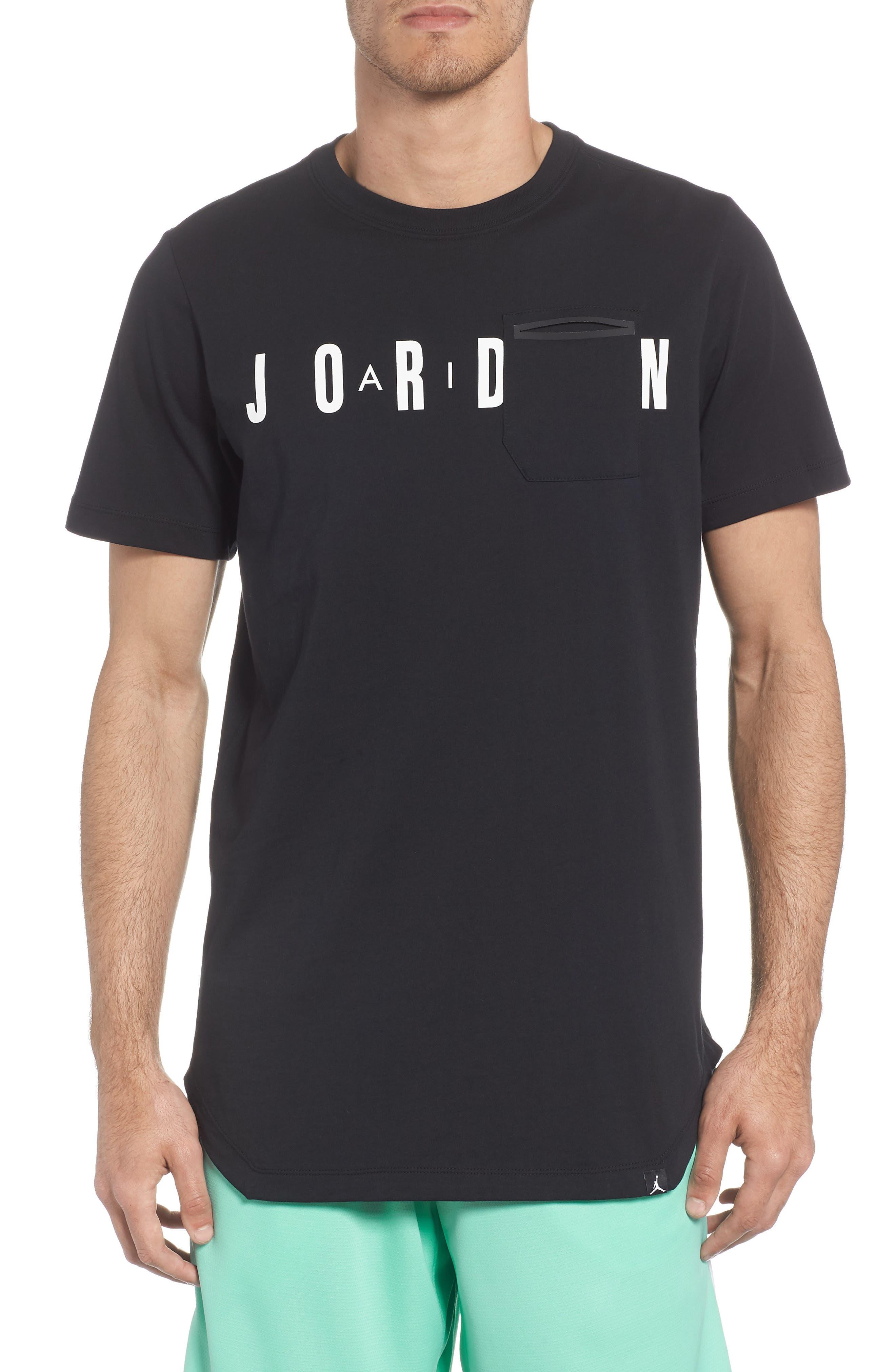 Jordan Sportswear Graphic Shirt, Black
