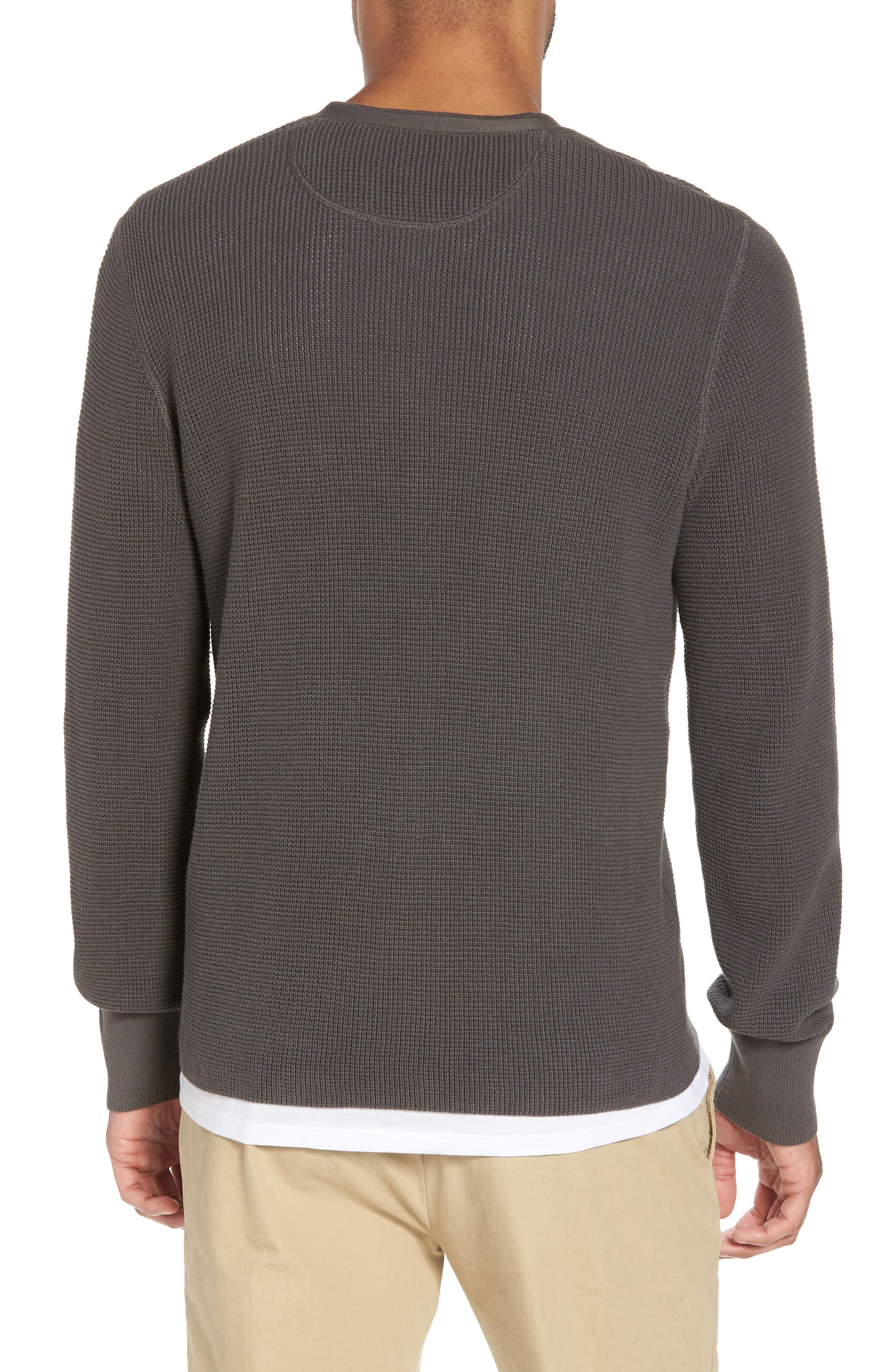 Slim Fit Thermal Henley,                             Alternate thumbnail 2, color,                             020