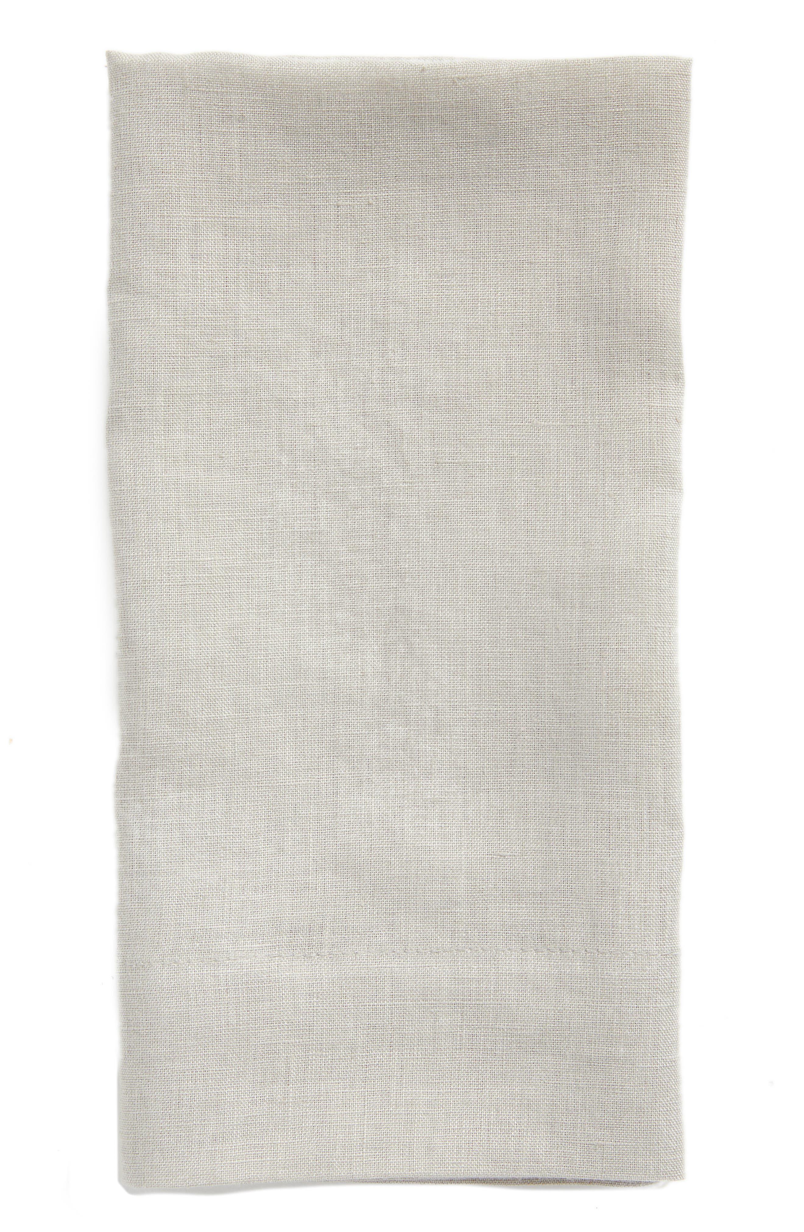 Washed Linen Napkin,                         Main,                         color, 020