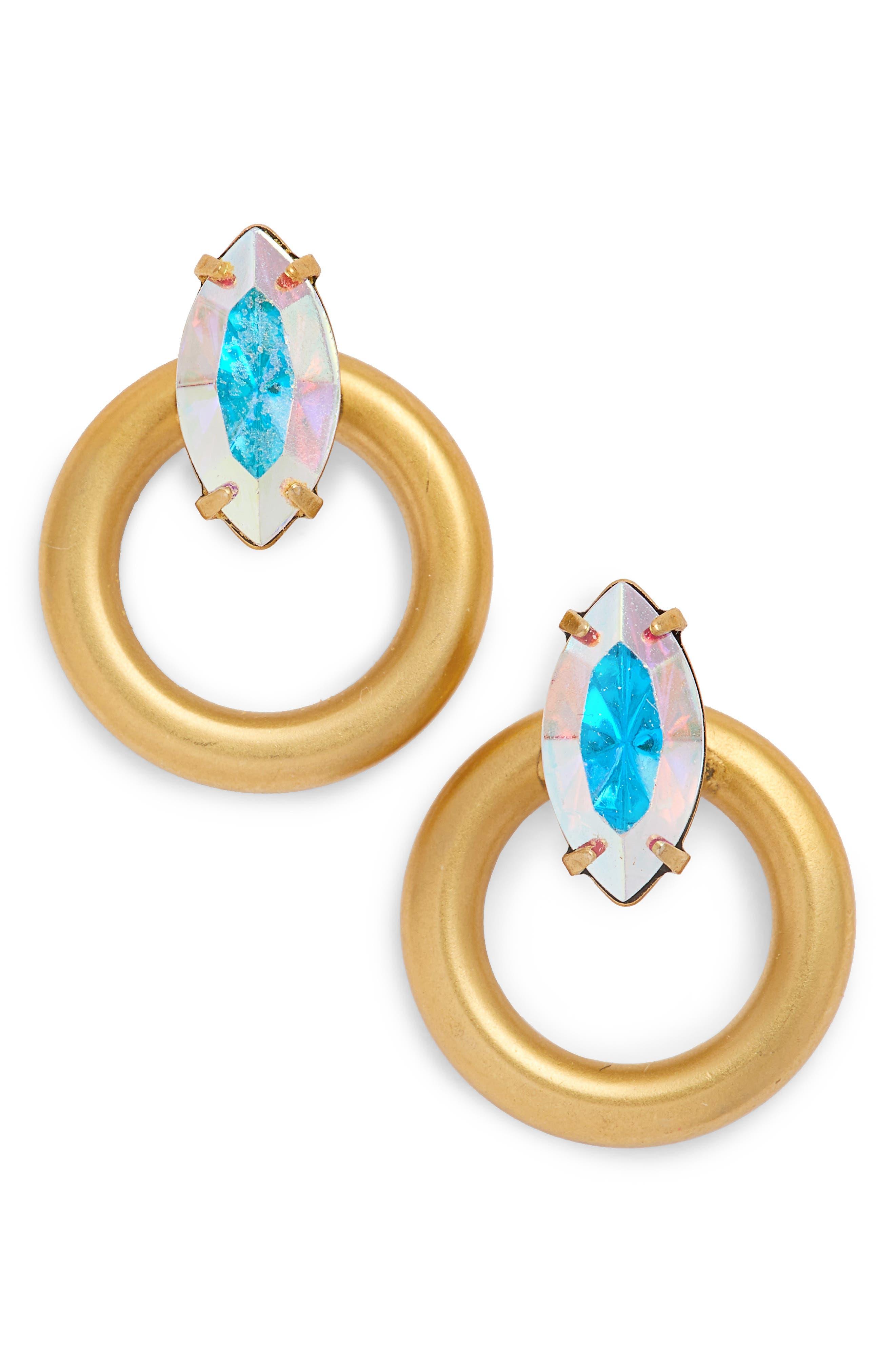 Libby Hoop Earrings,                             Main thumbnail 1, color,                             710