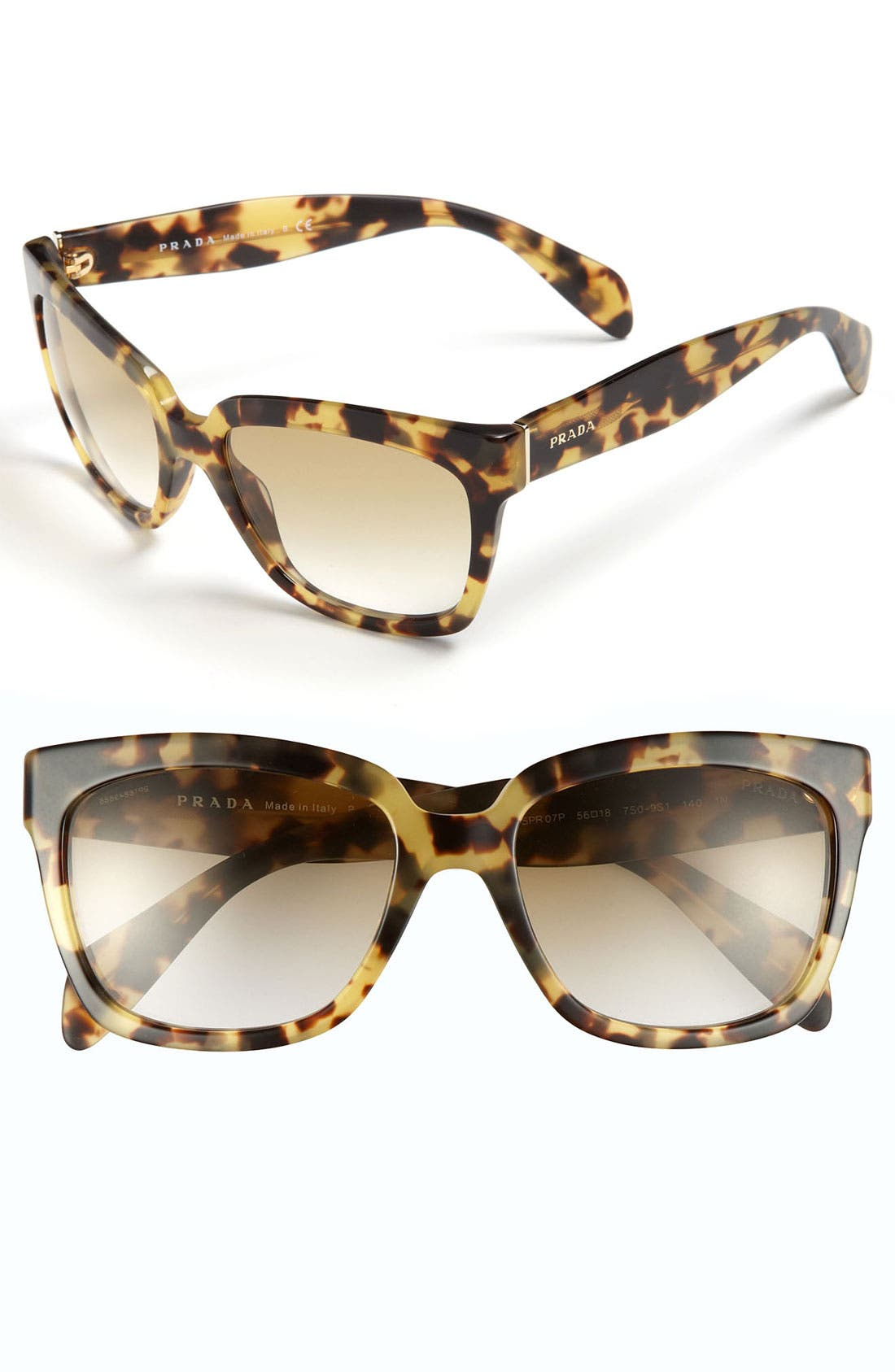 Timeless 56mm Square Sunglasses,                             Main thumbnail 2, color,