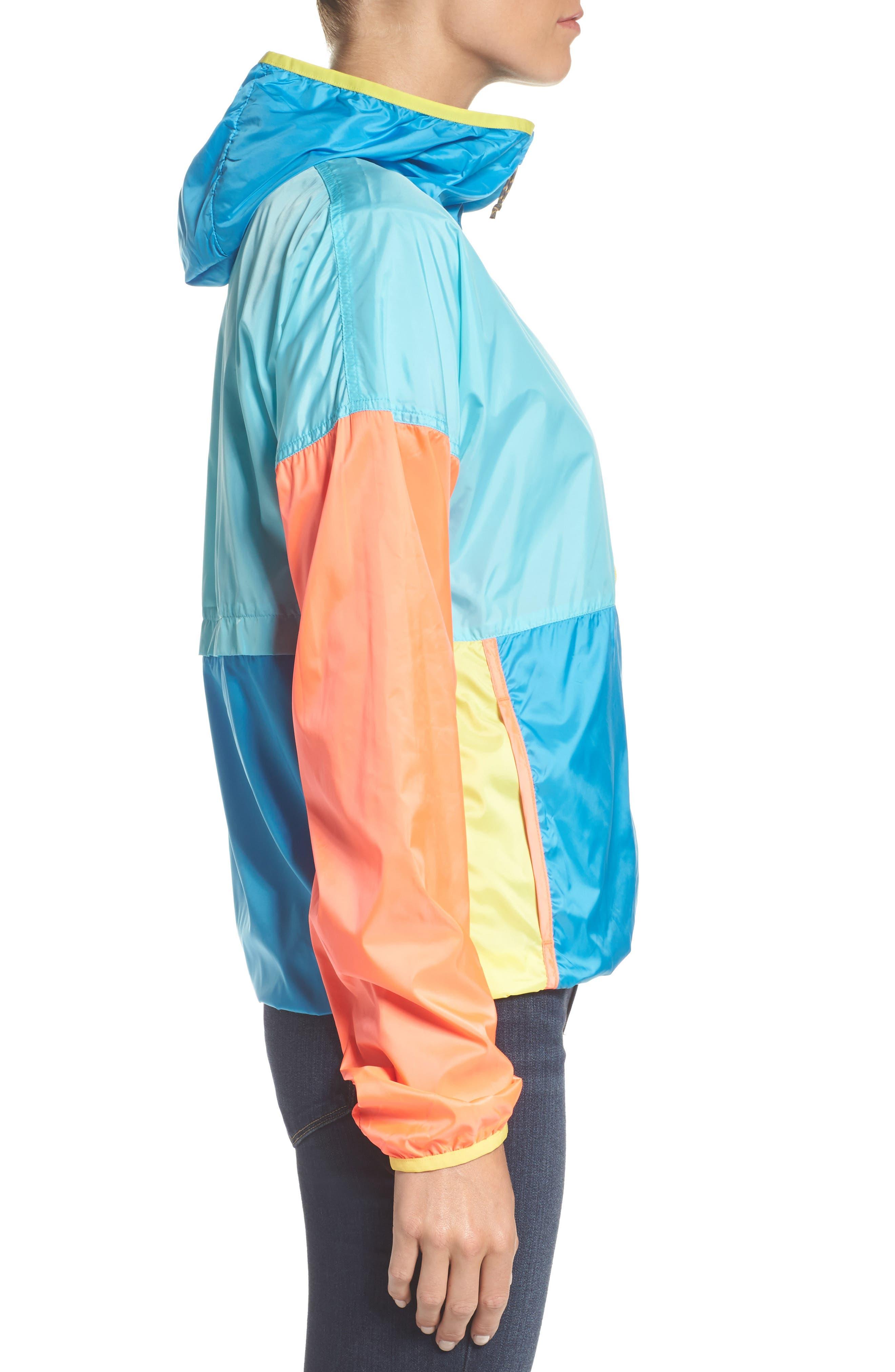 Teca Packable Water Resistant Windbreaker Jacket,                             Alternate thumbnail 16, color,