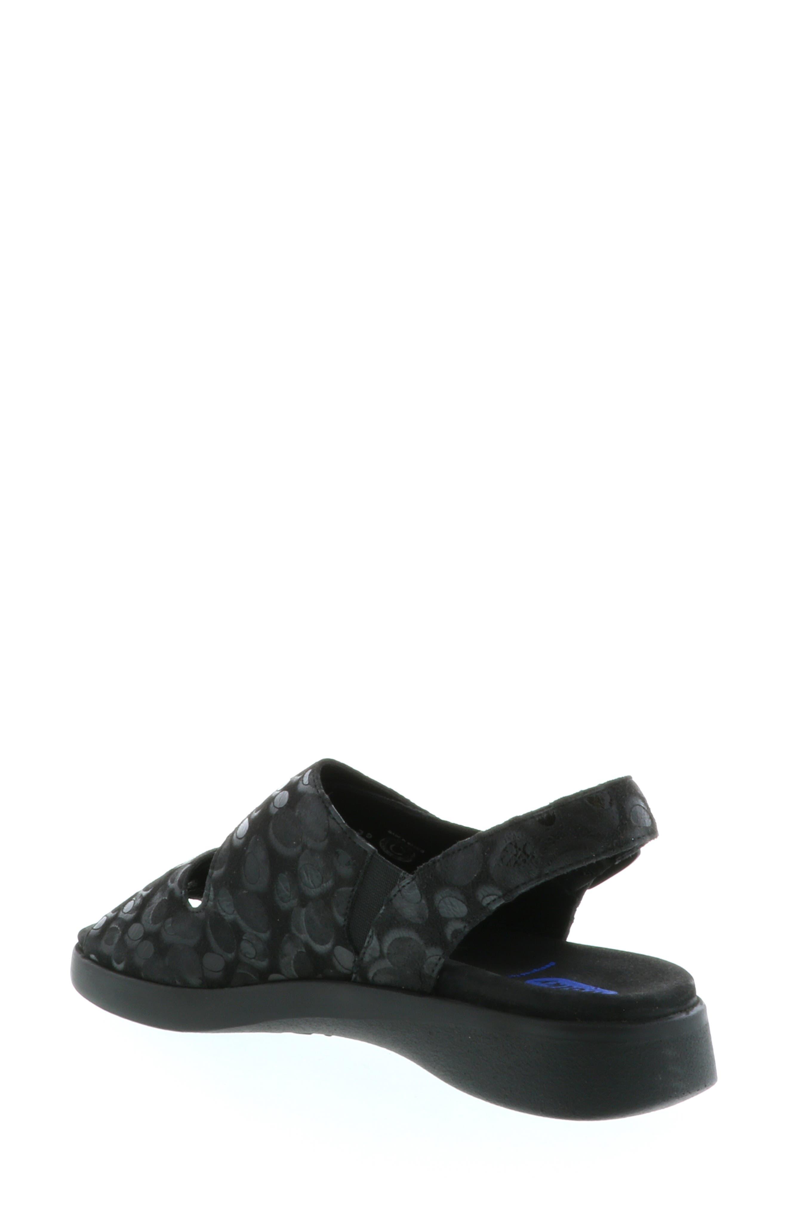 Nimes Sandal,                             Alternate thumbnail 2, color,                             BLACK