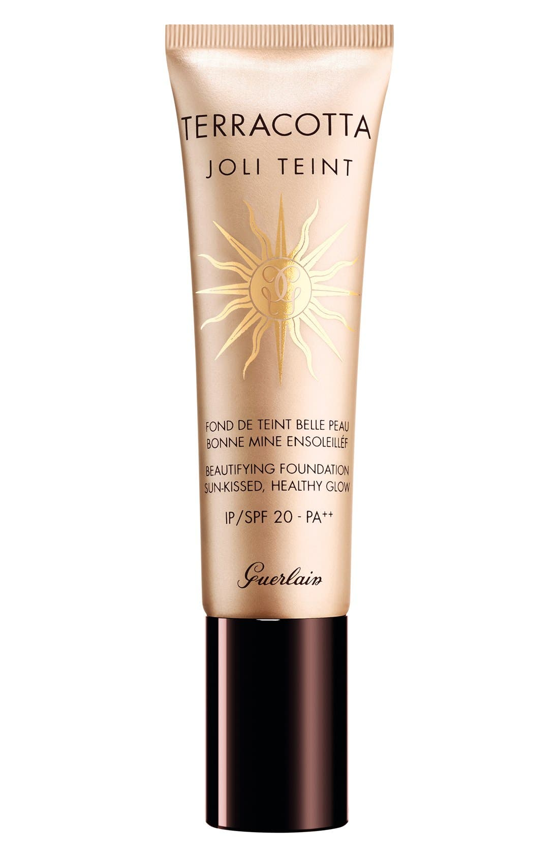 Terracotta Joli Teint Healthy Glow Fluid Foundation SPF 20,                             Main thumbnail 1, color,                             CLAIR