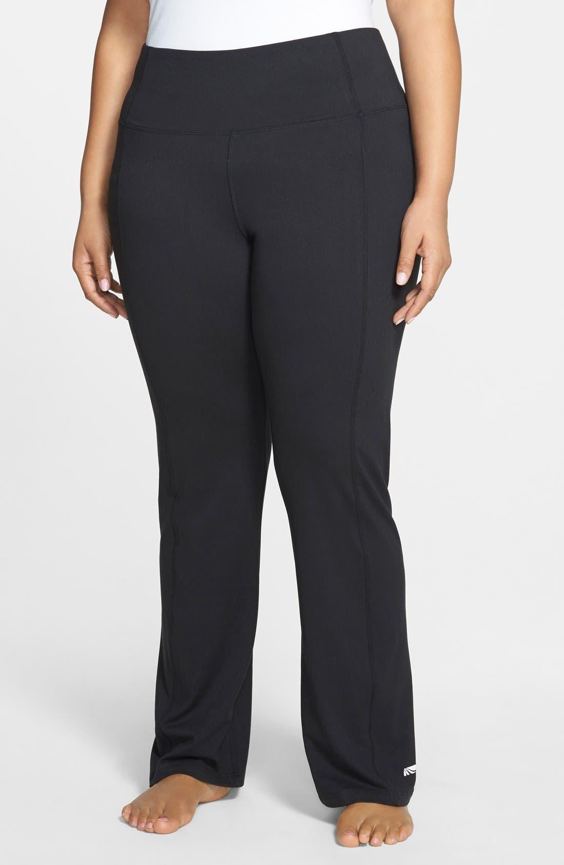High Rise Control Top Bootcut Pants,                         Main,                         color, 001