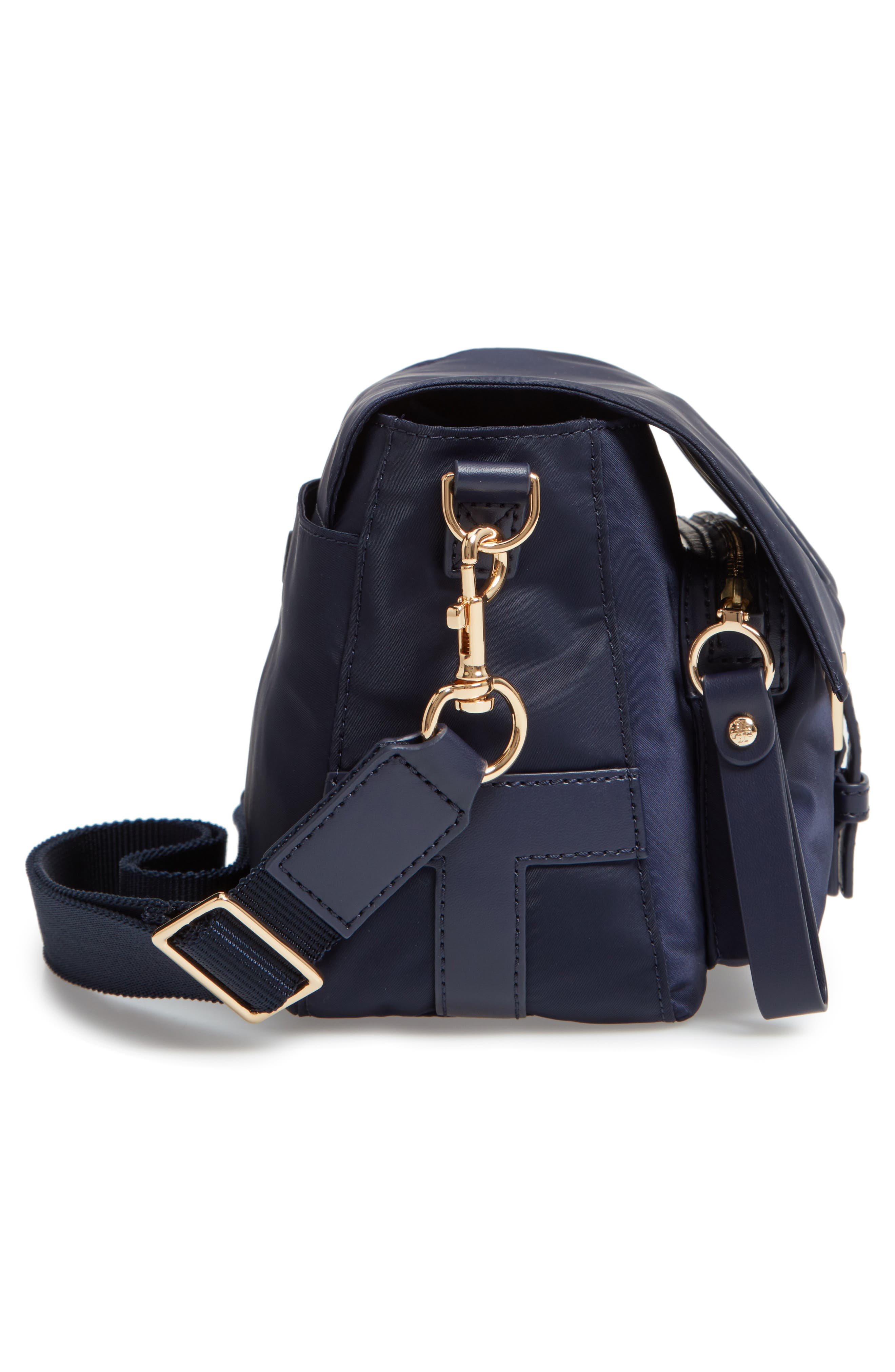Tilda Nylon Crossbody Bag,                             Alternate thumbnail 6, color,                             400