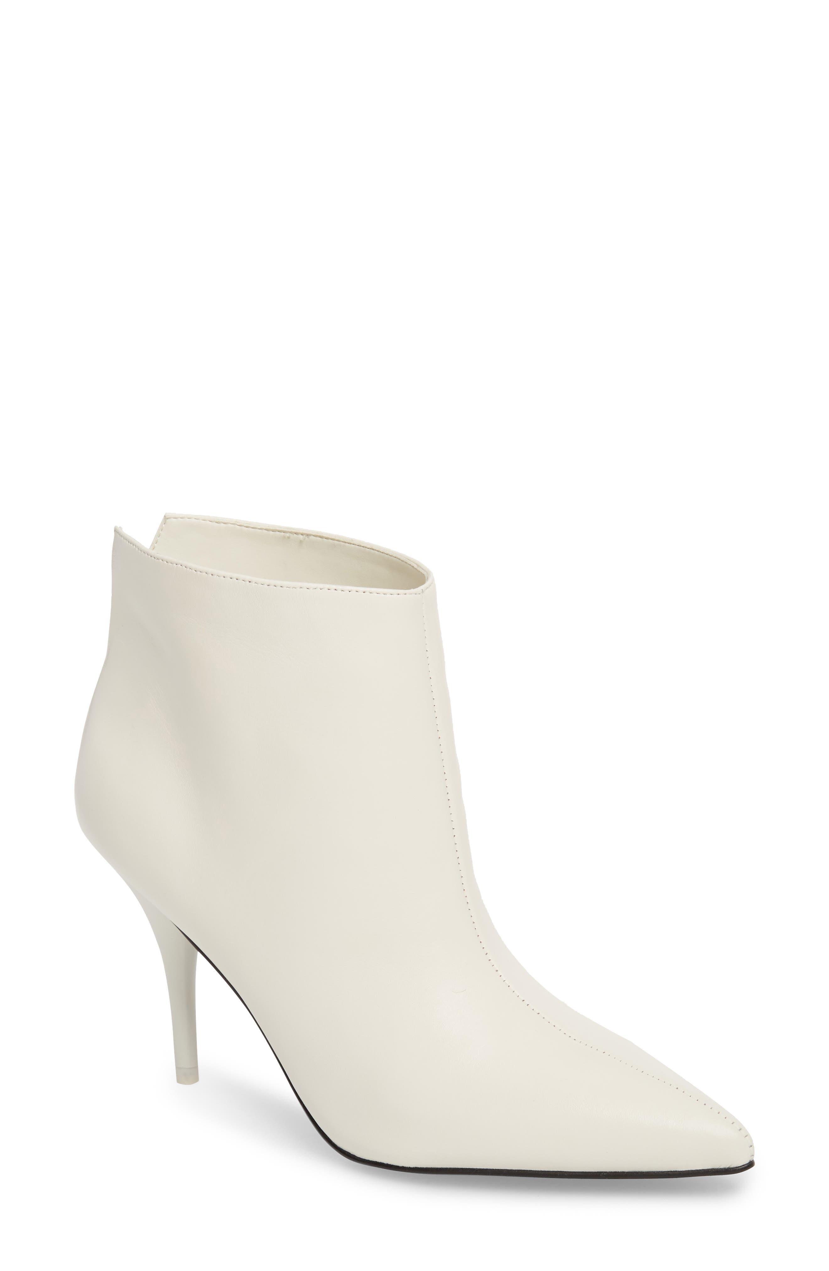 Marc Fisher Ltd Fenet Pointy Toe Bootie, White