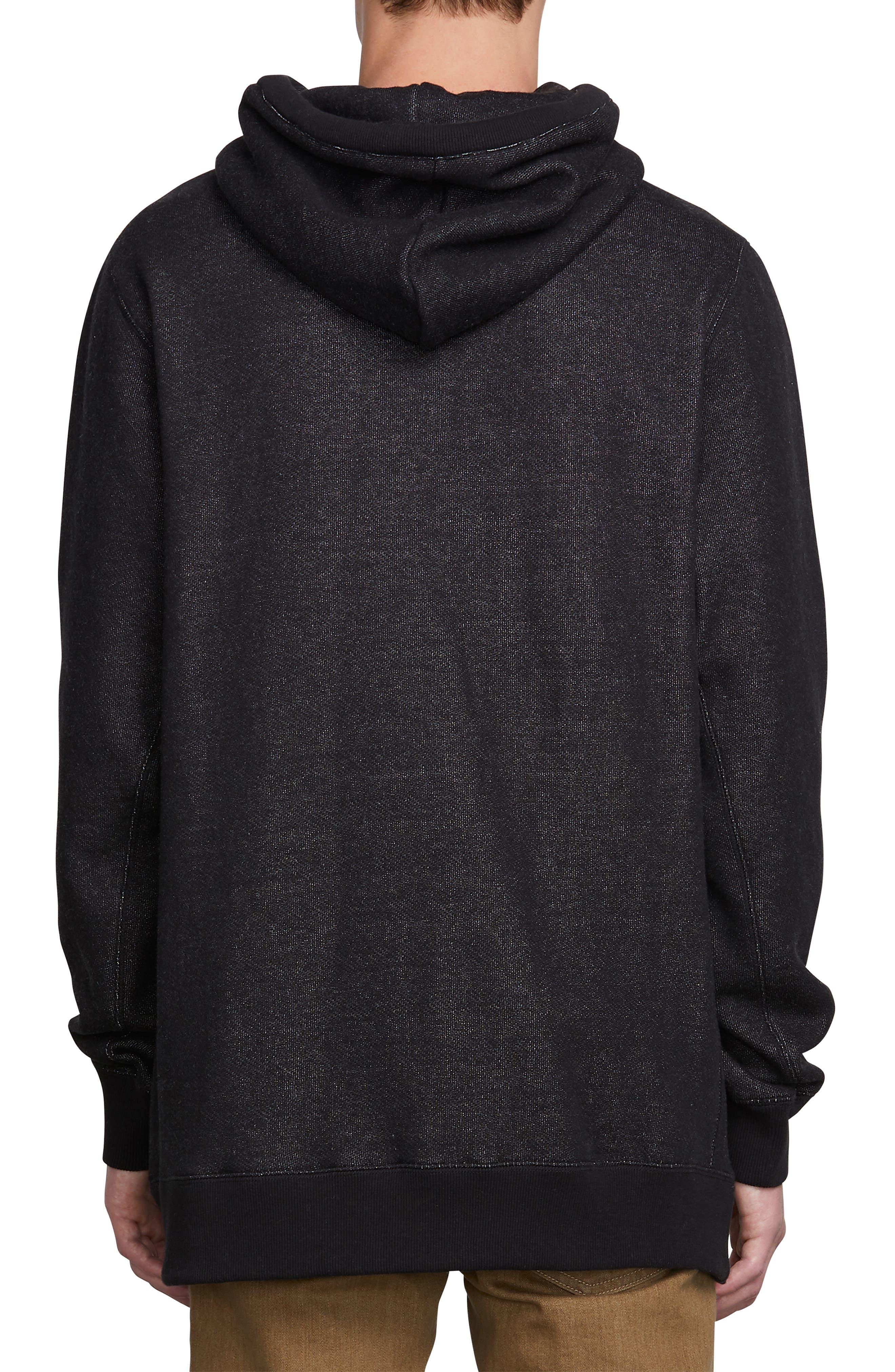 Coder Hoodie Sweatshirt,                             Alternate thumbnail 2, color,                             BLACK