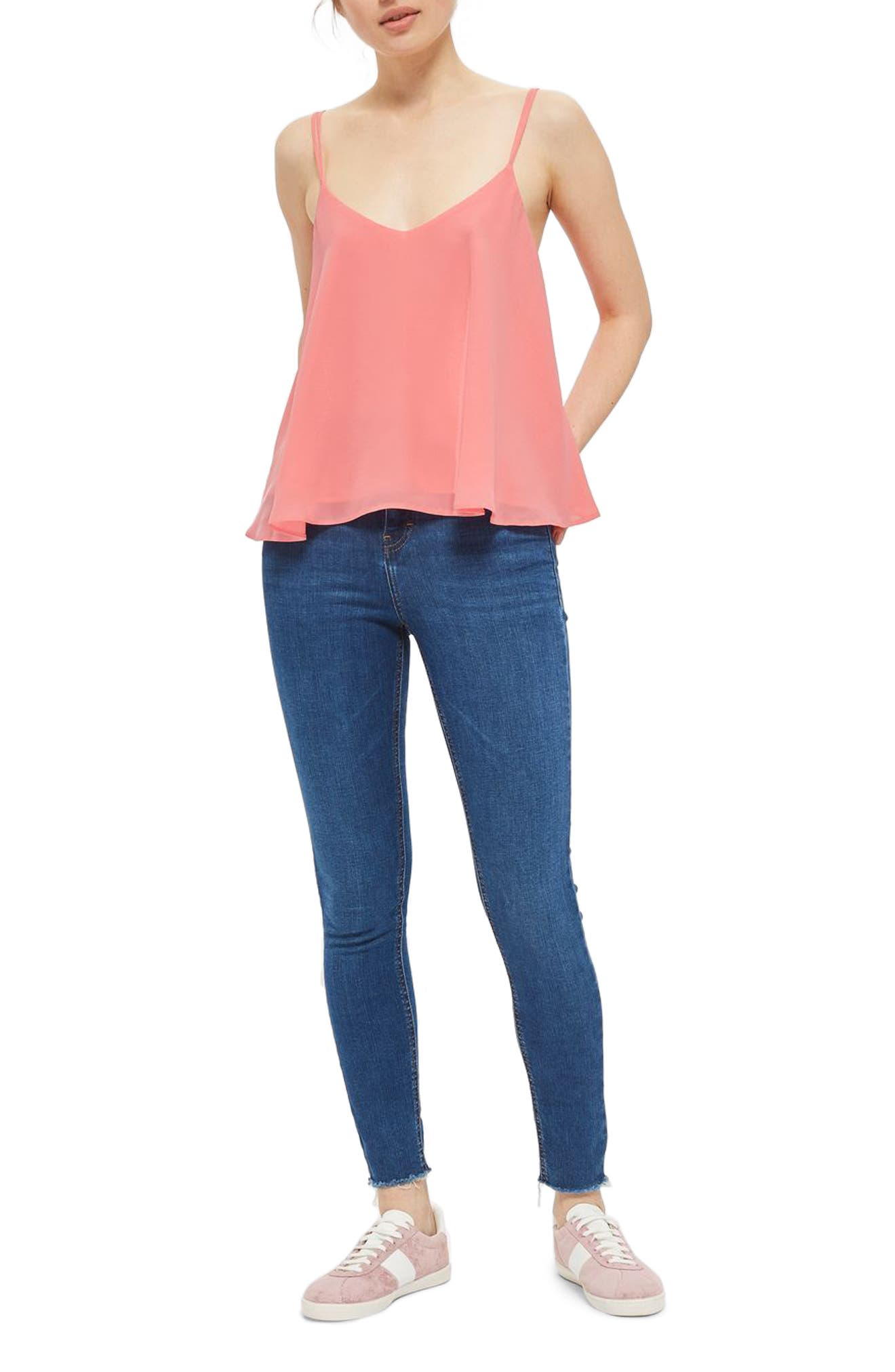 Rouleau Swing Camisole,                         Main,                         color, 670