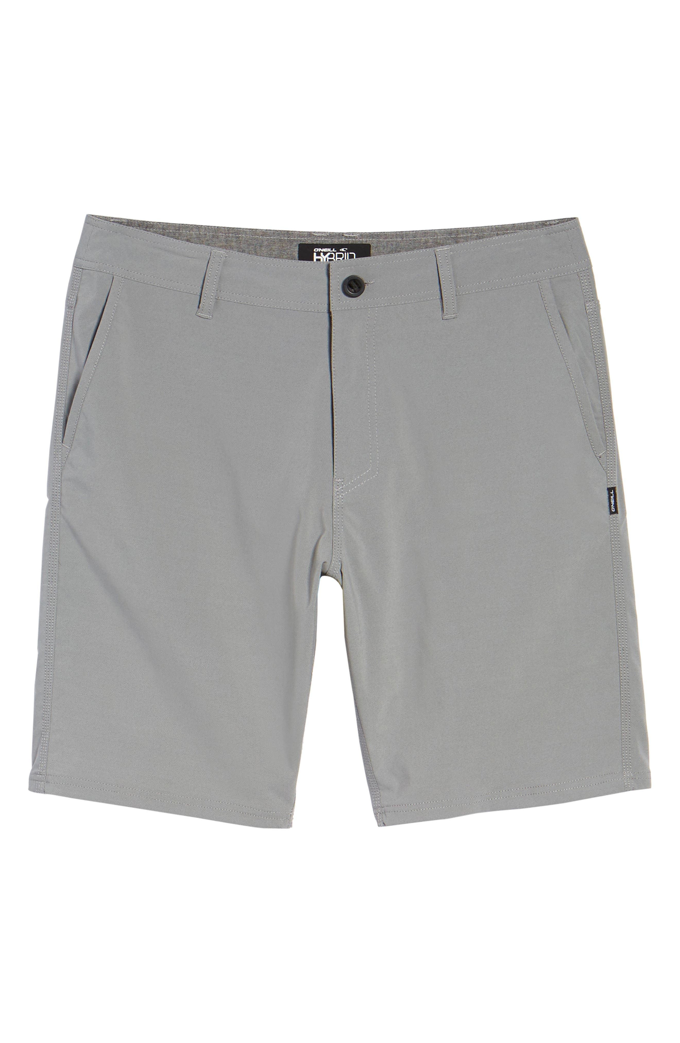 Stockton Hybrid Shorts,                             Alternate thumbnail 6, color,                             GREY