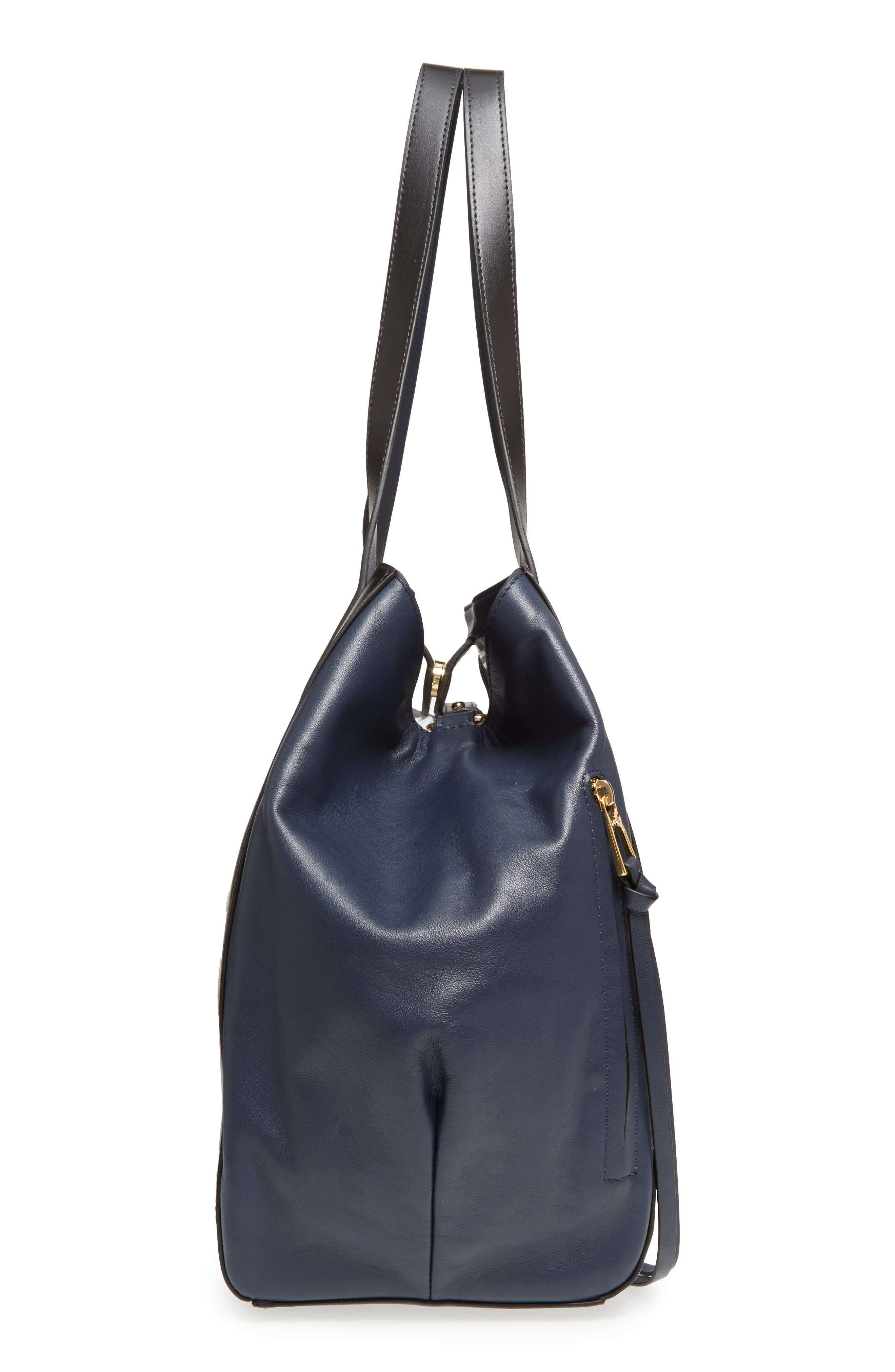 Downtown Charlize RFID Leather Tote,                             Alternate thumbnail 14, color,