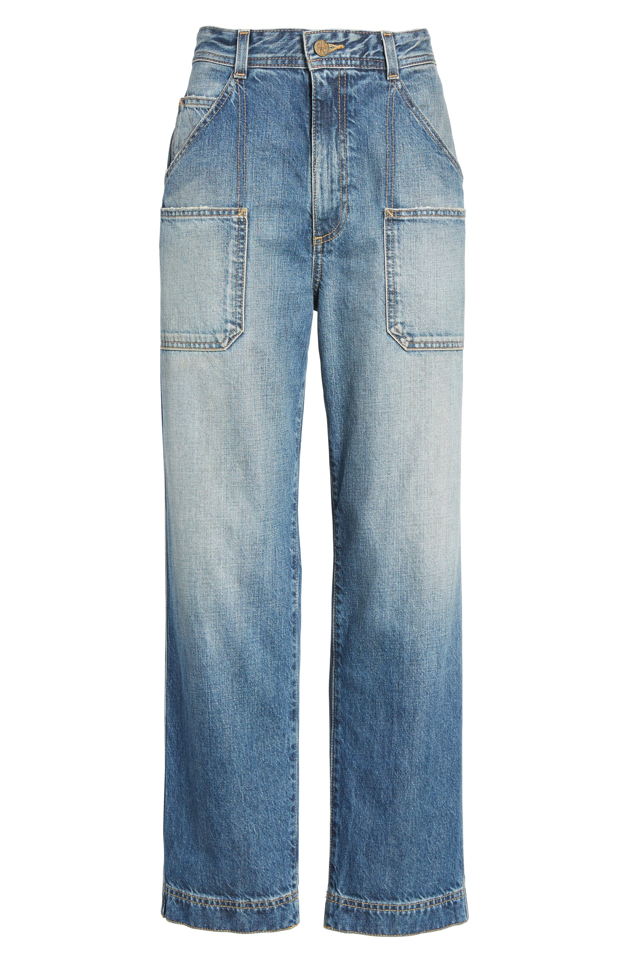 Cody Rolled Hem Jeans,                             Alternate thumbnail 6, color,