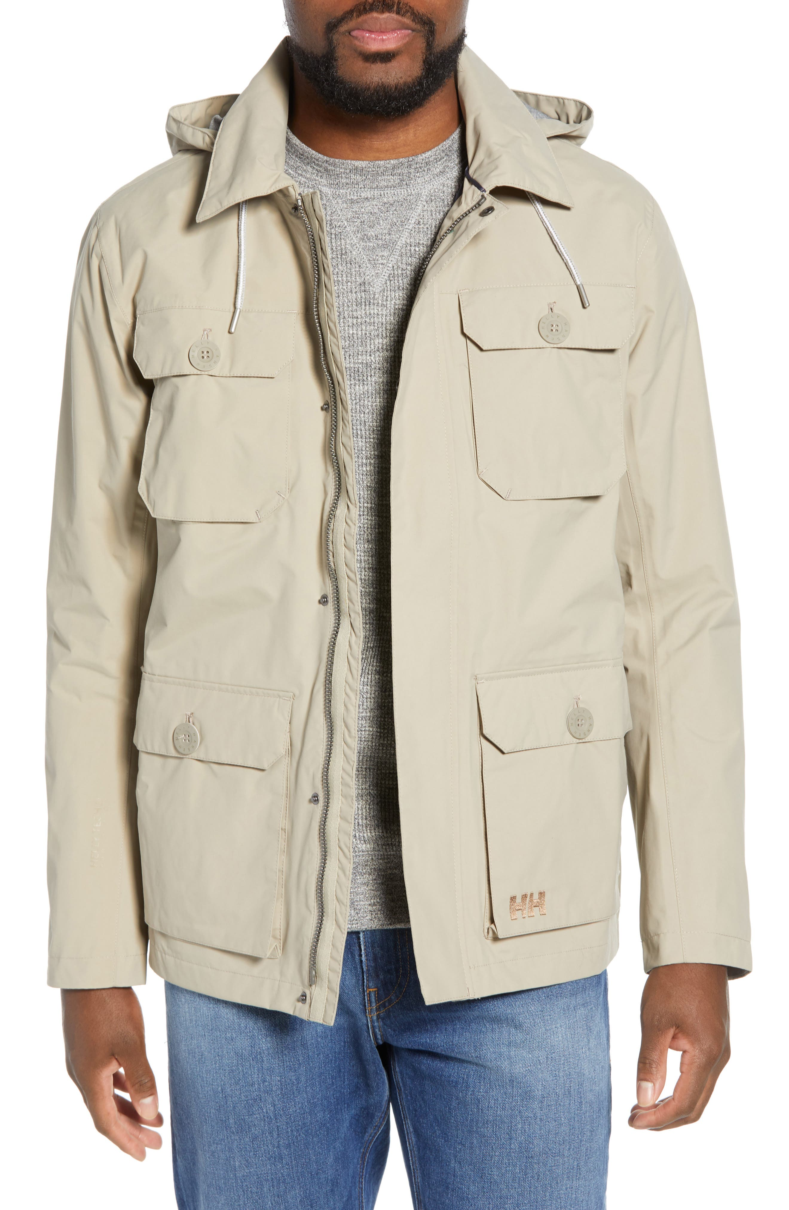 Helly Hansen Kobe Waterproof Helly Tech Field Jacket, Grey
