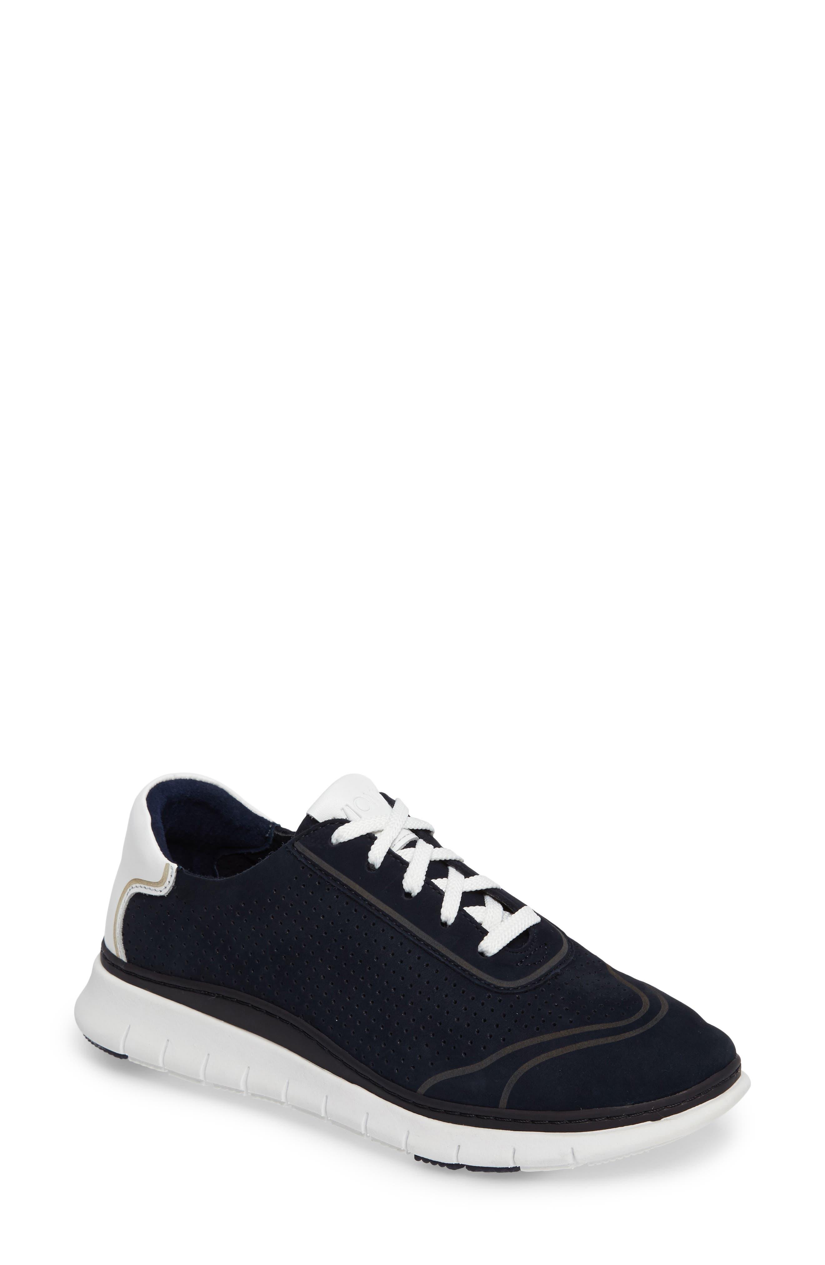 Fresh Riley Perforated Sneaker,                             Main thumbnail 4, color,