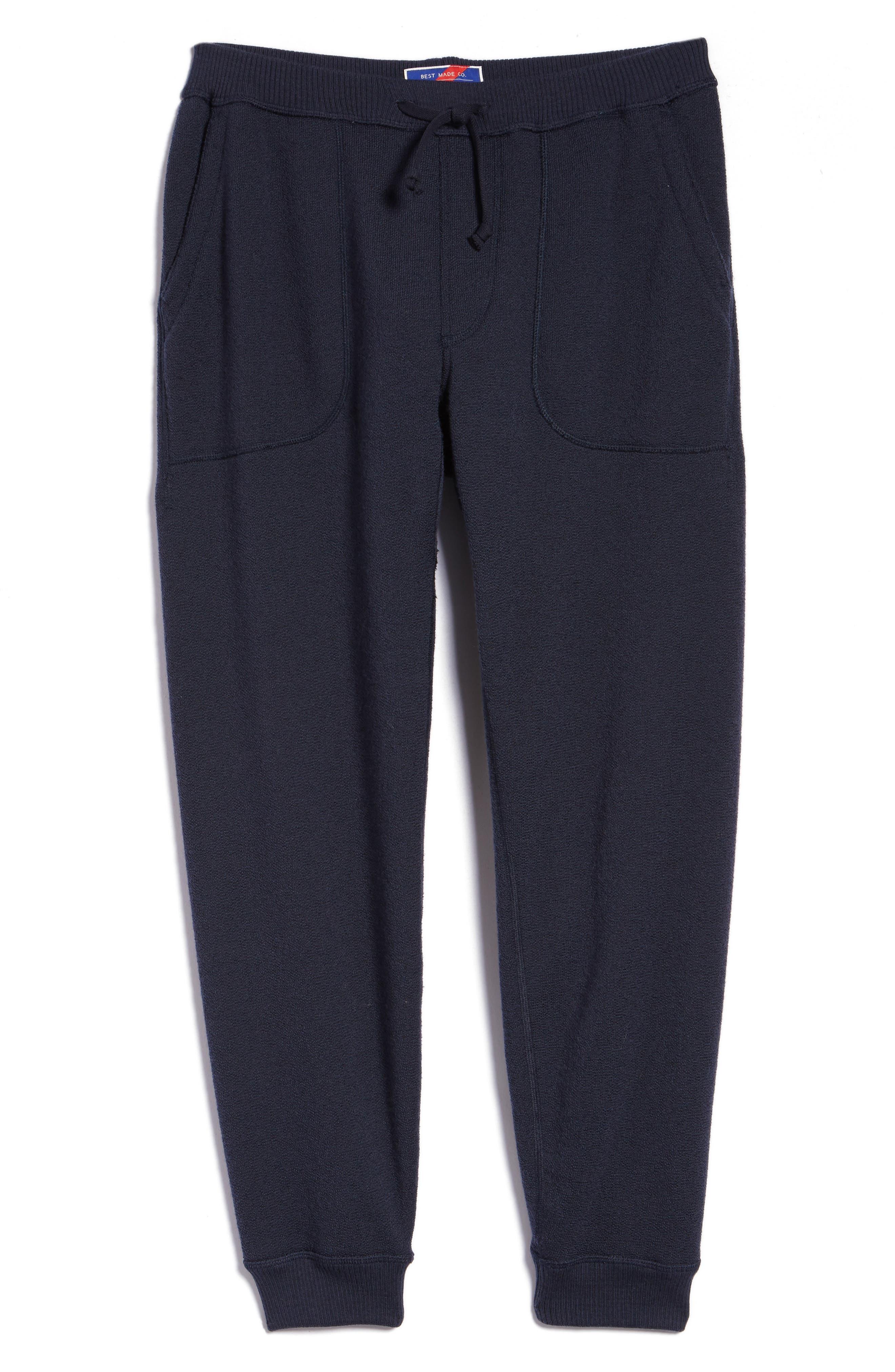 Best Made Co. The Merino Wool Fleece Sweatpants, Blue