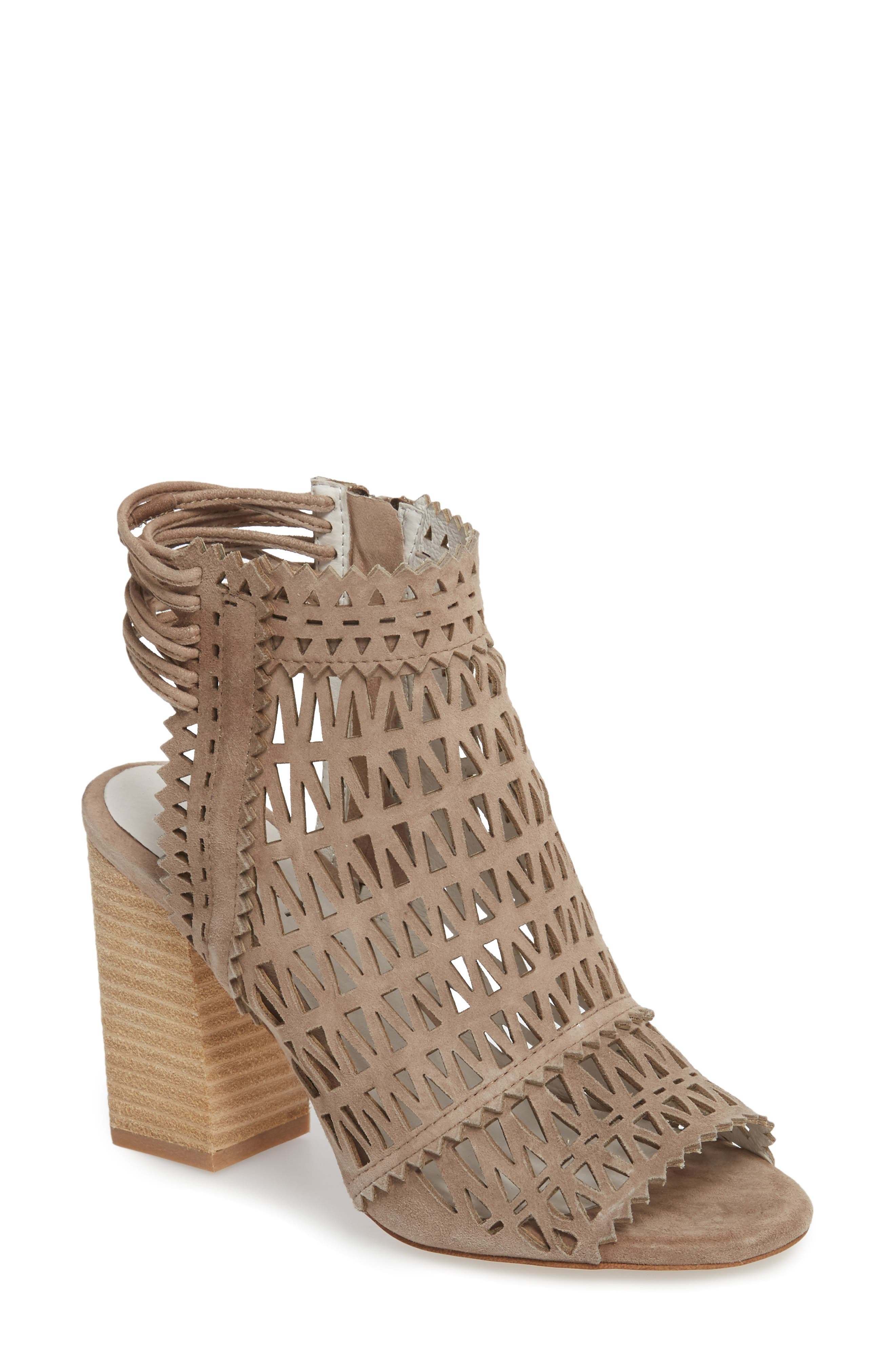 Ottawa Sandal,                             Main thumbnail 1, color,                             TAUPE SUEDE