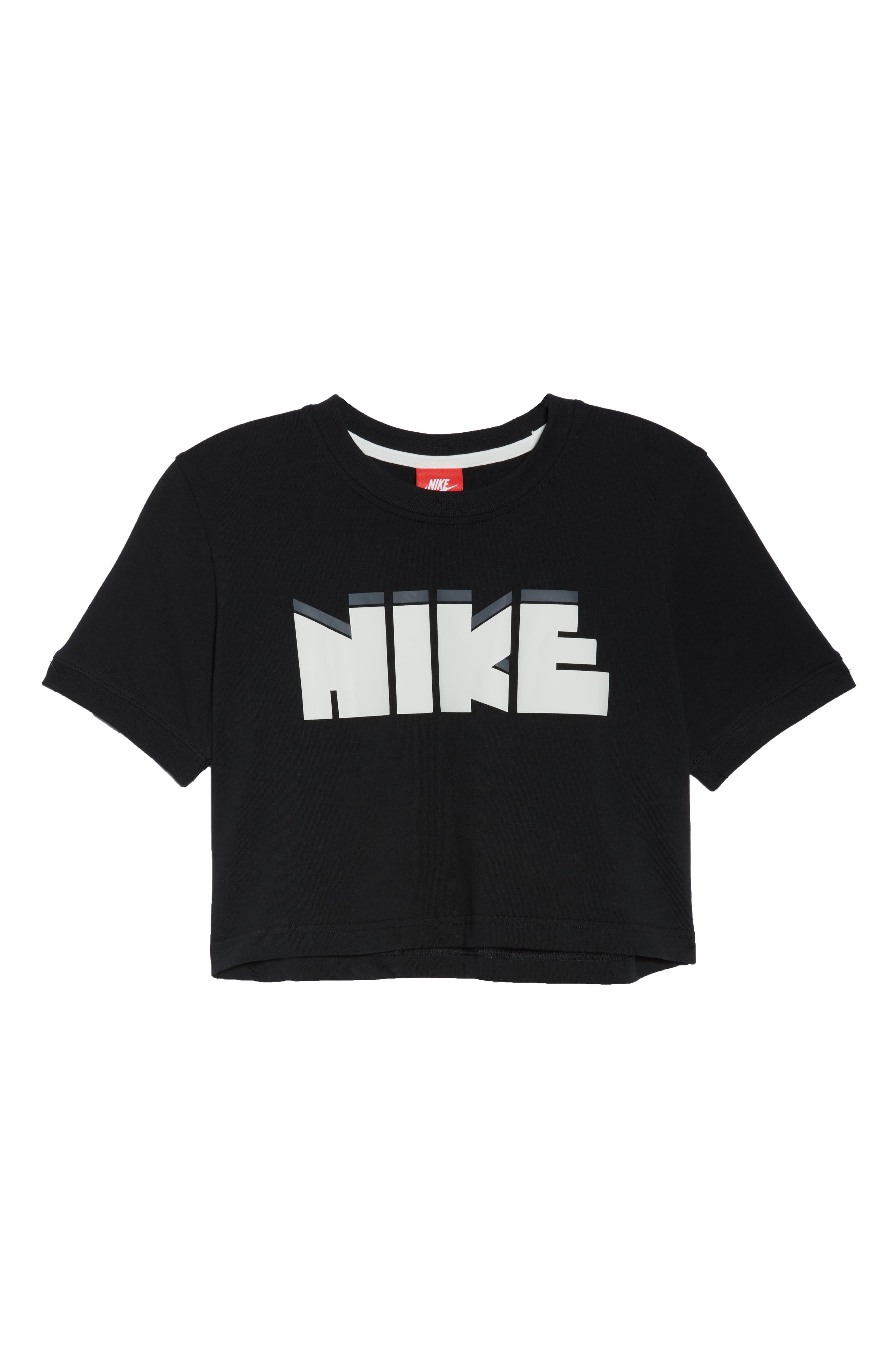Sportswear Archive Crop Tee,                             Alternate thumbnail 6, color,                             010
