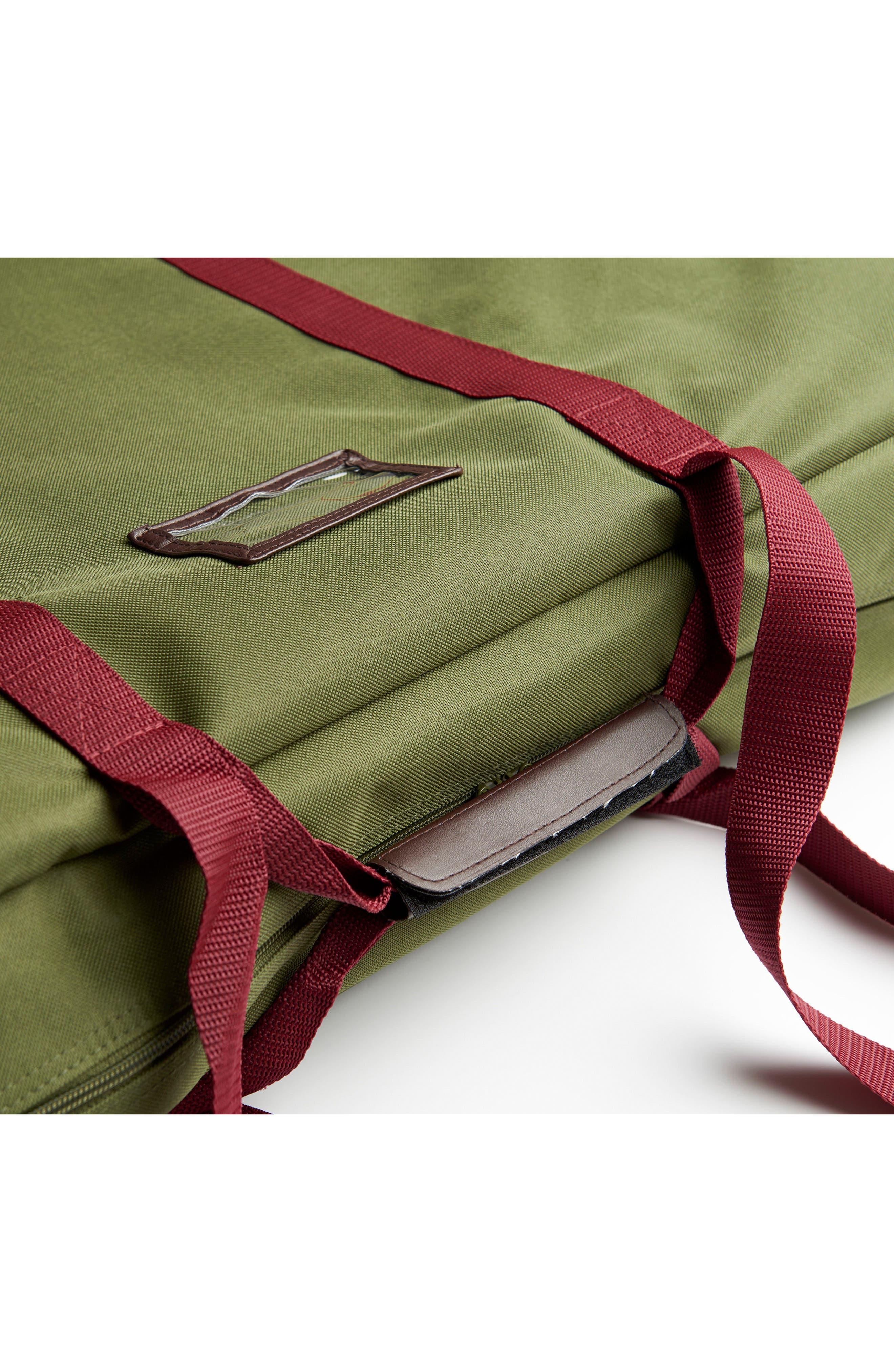 Grand Transport Bag,                             Alternate thumbnail 3, color,                             MOSS GREEN