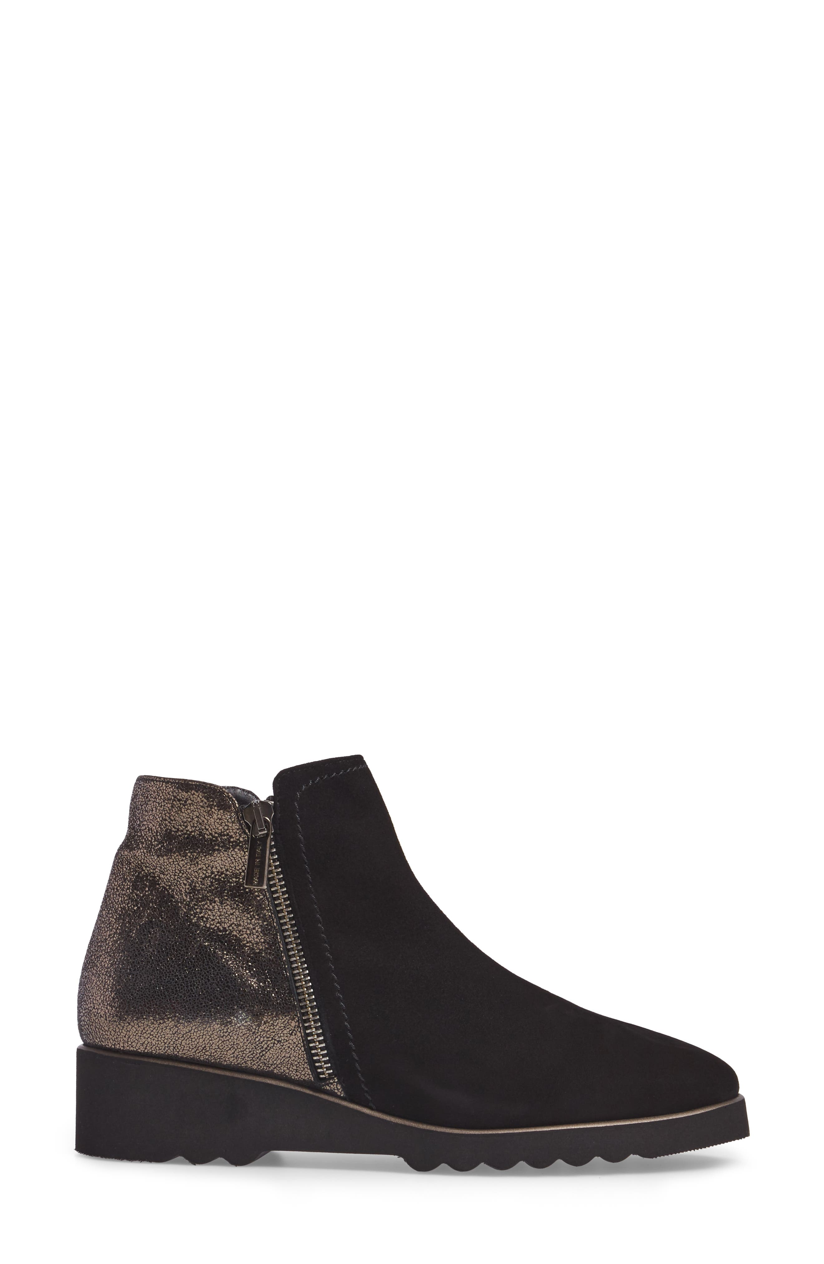 Addie Wedge Bootie,                             Alternate thumbnail 3, color,